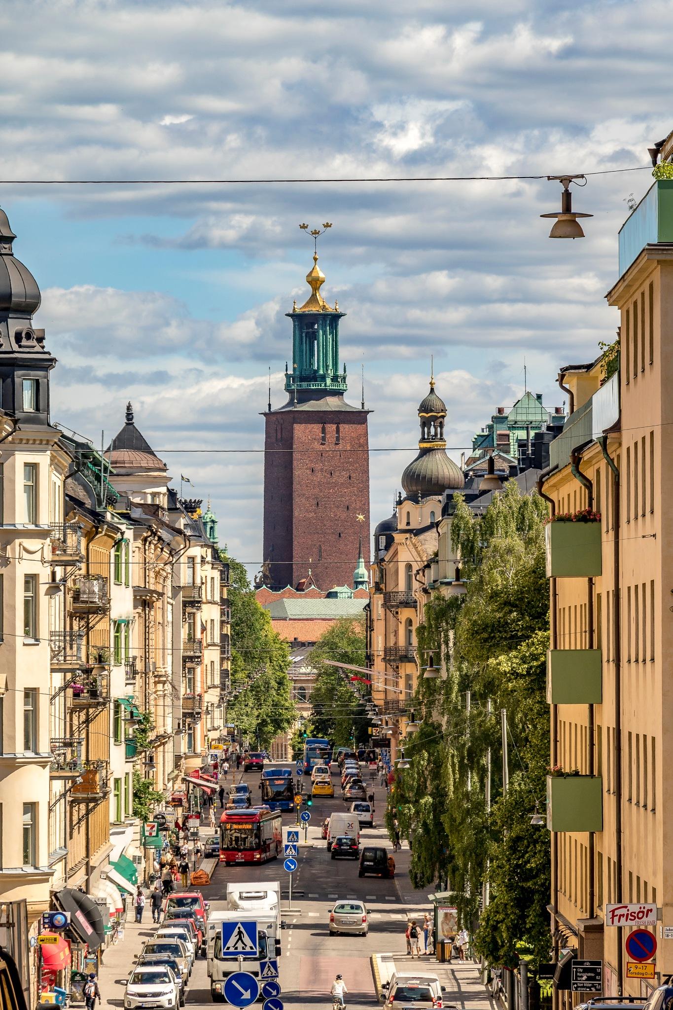 The Stockholm City Hall by Kim Jonsson