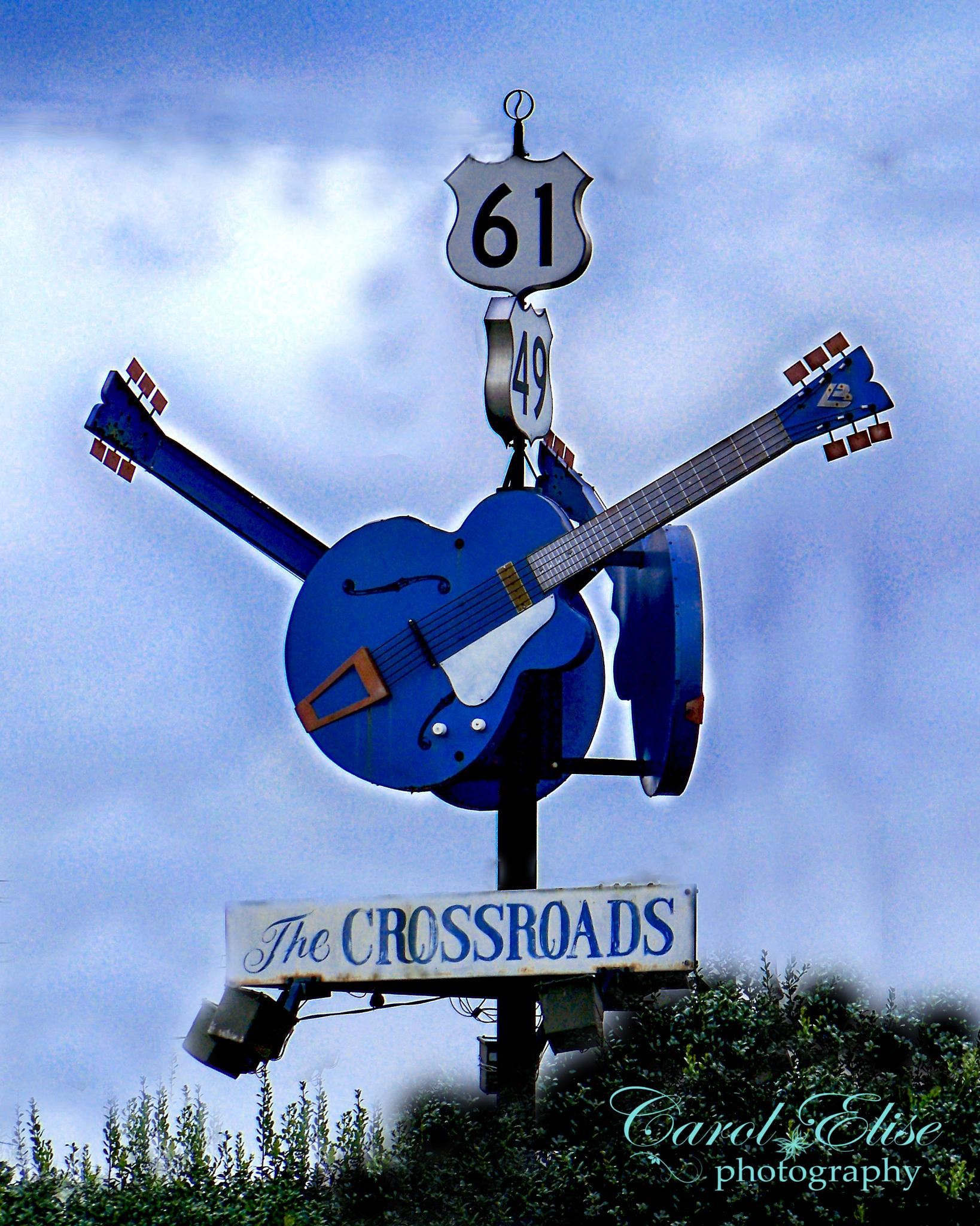 Crossroads Highway 61 by Carol E. Lewis
