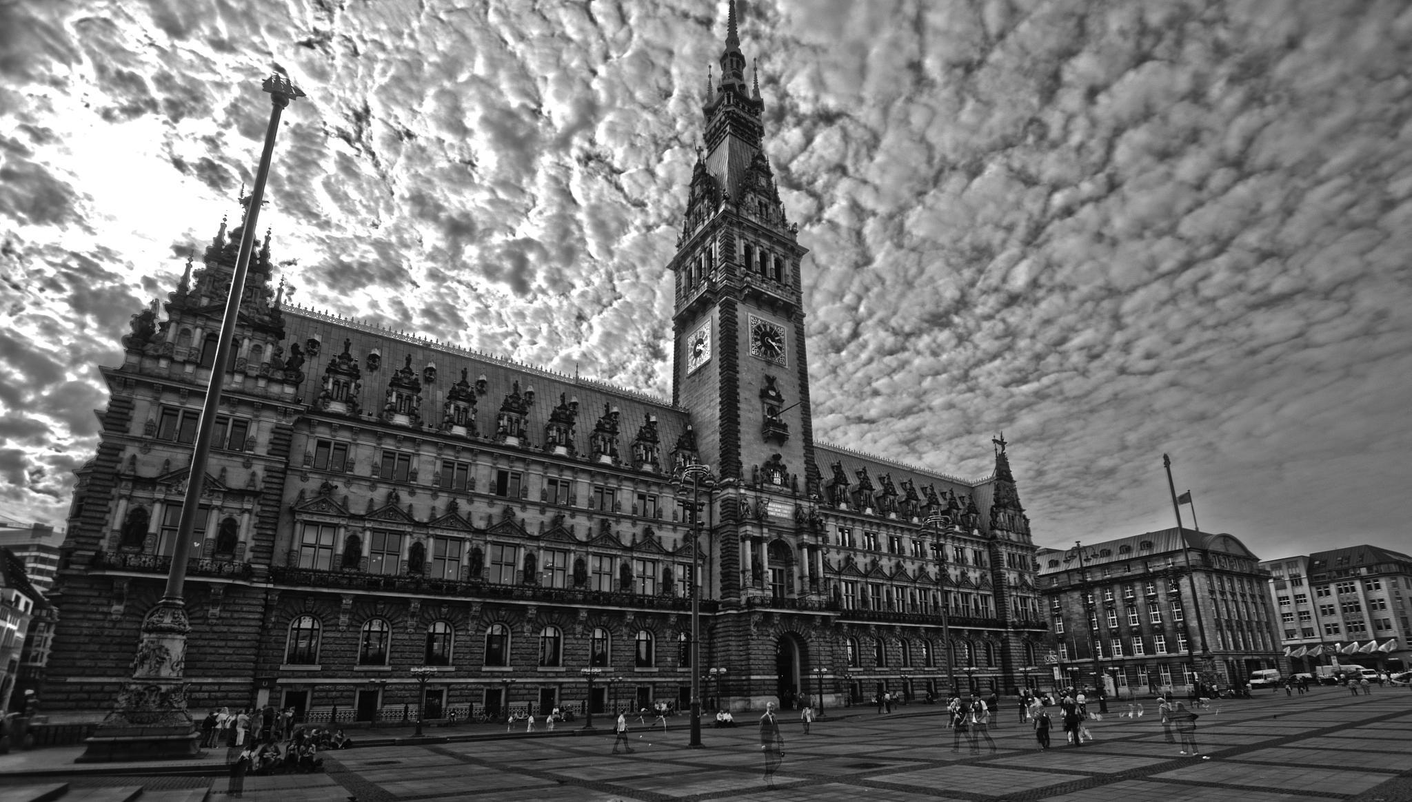 Rathaus >< Hamburg by Jose Luis Hidalgo