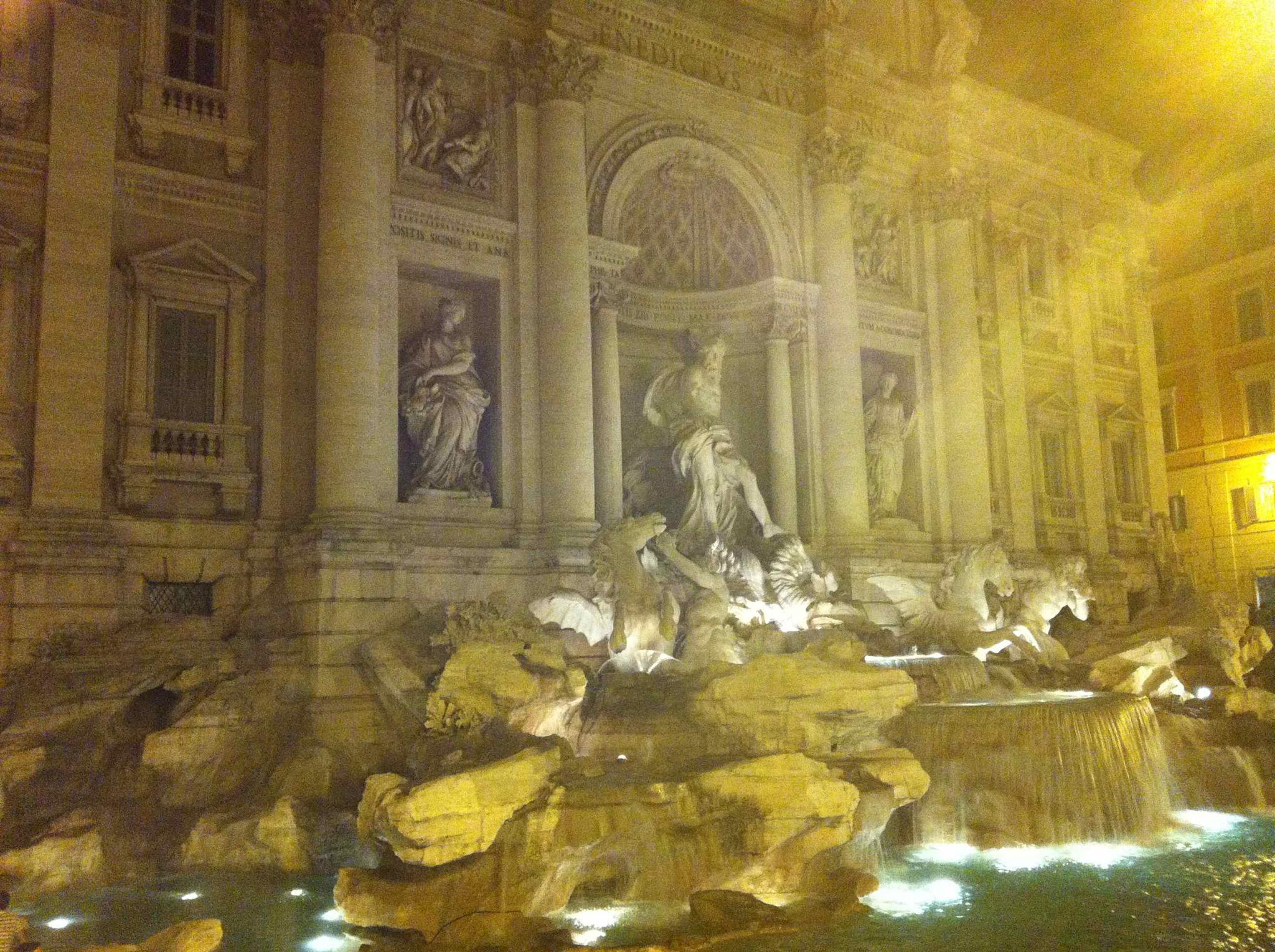 Fontana di Trivi, Rome, Italy by Richard Kennett