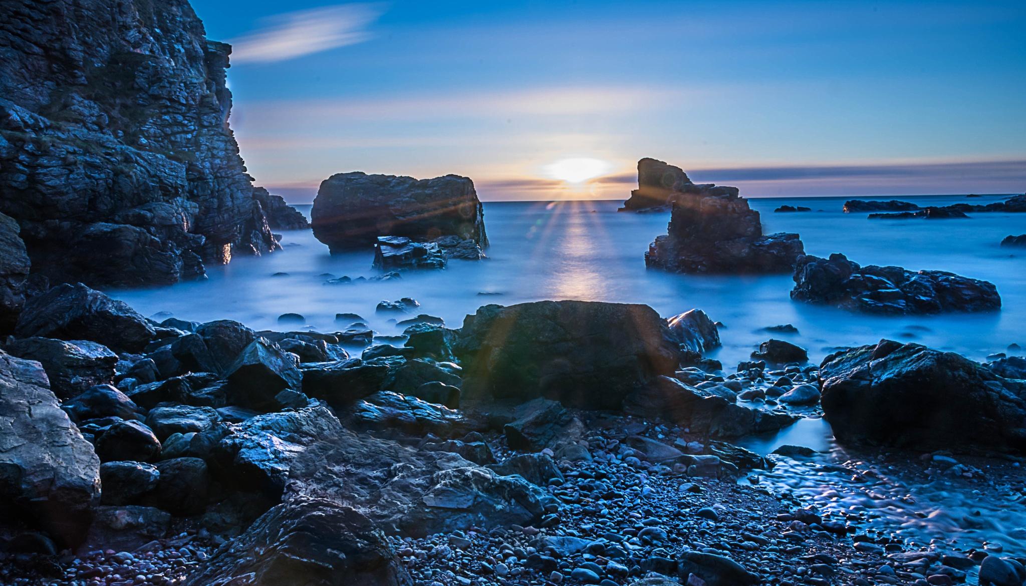 Muchalls Morning by Andrew Dalgarno