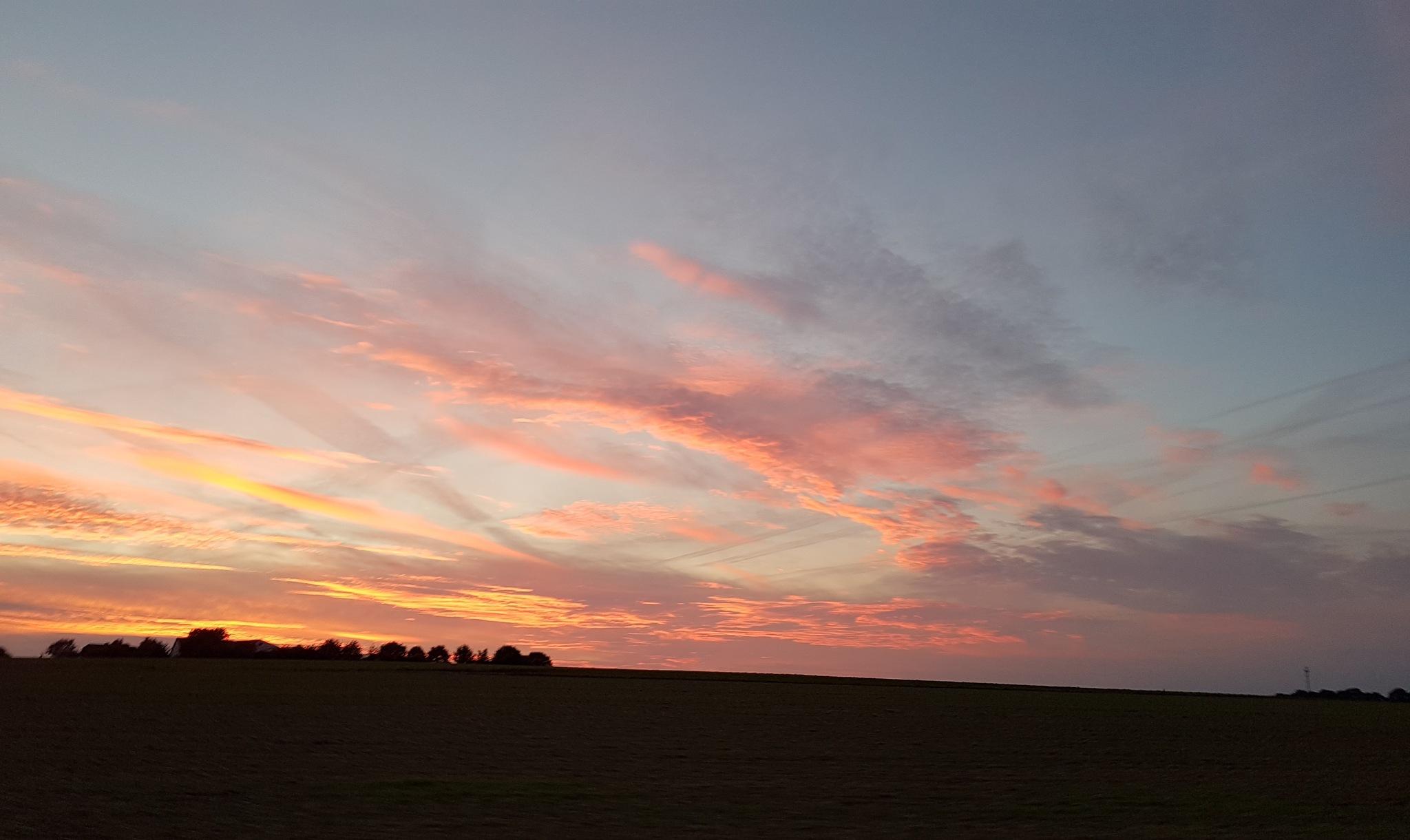 Sunset by Inez