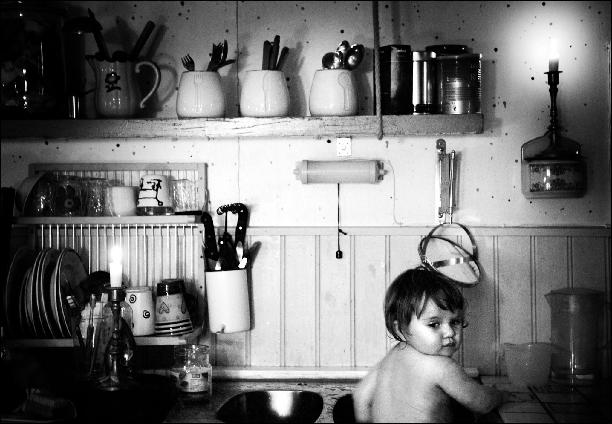 Kitchen sink bath by MlleVivien