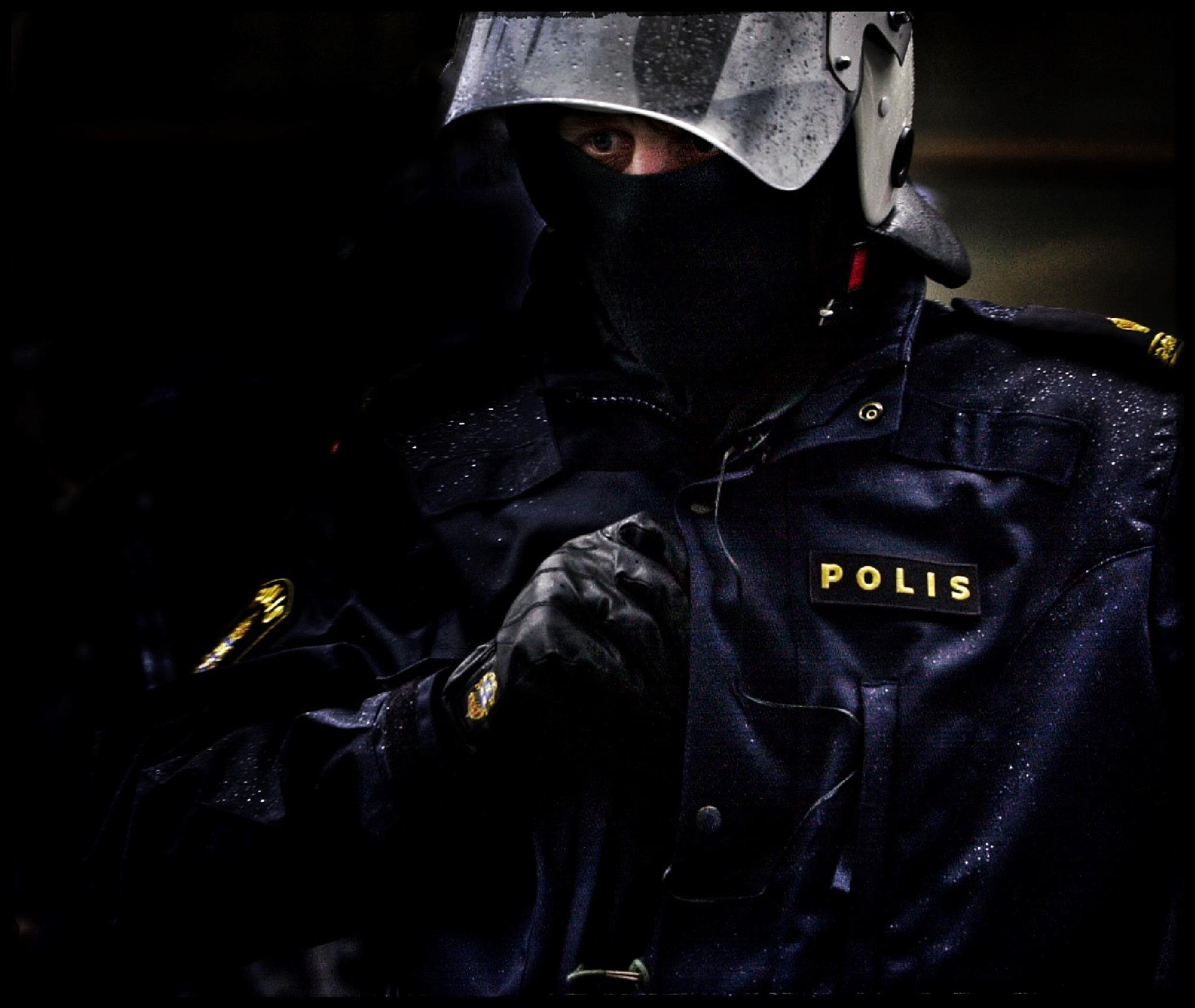 Photo in People #urban #police #stockholm