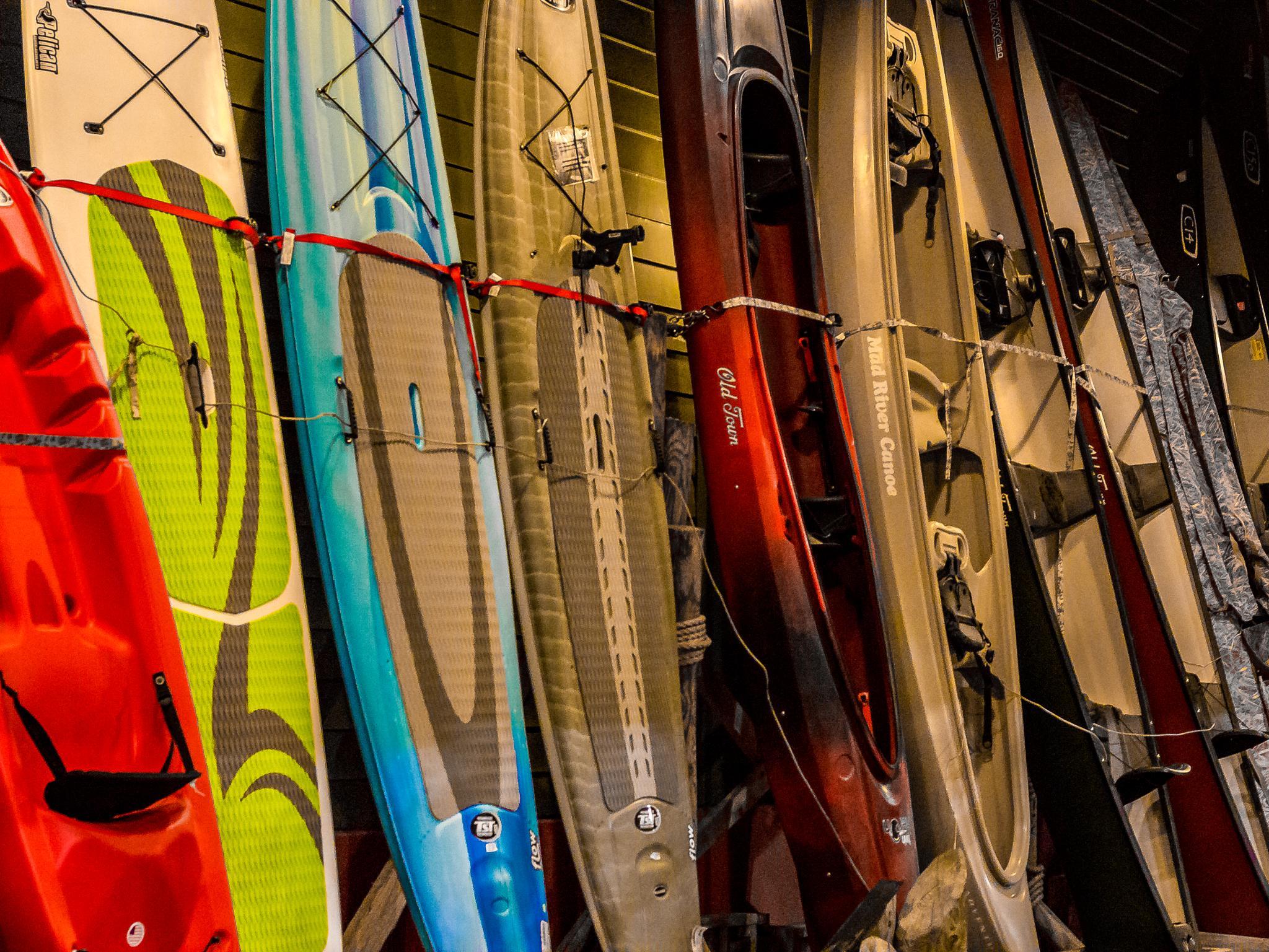 Kayaks by Michelle Eagan