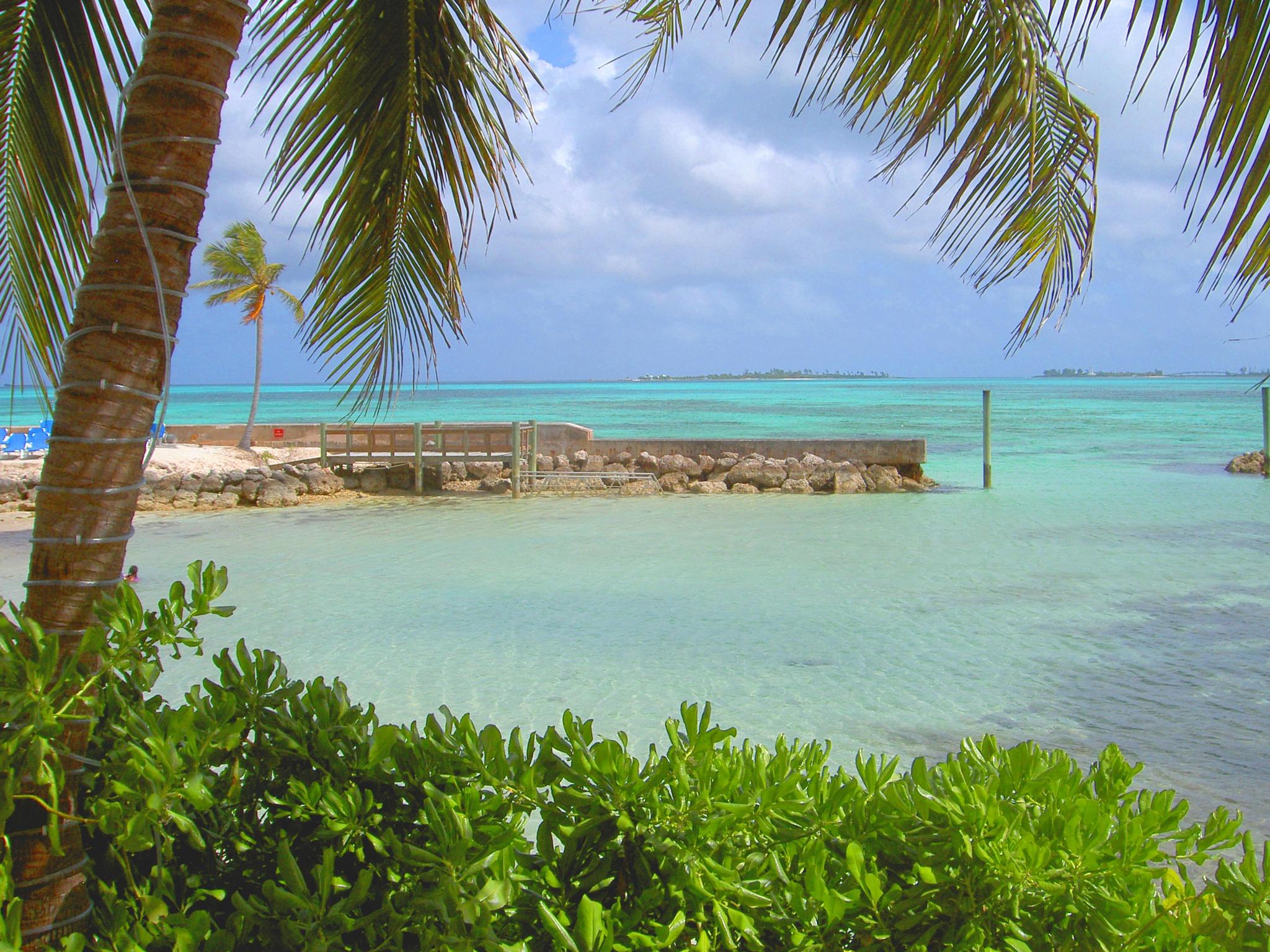 Bahama Beach by Tim Kessel