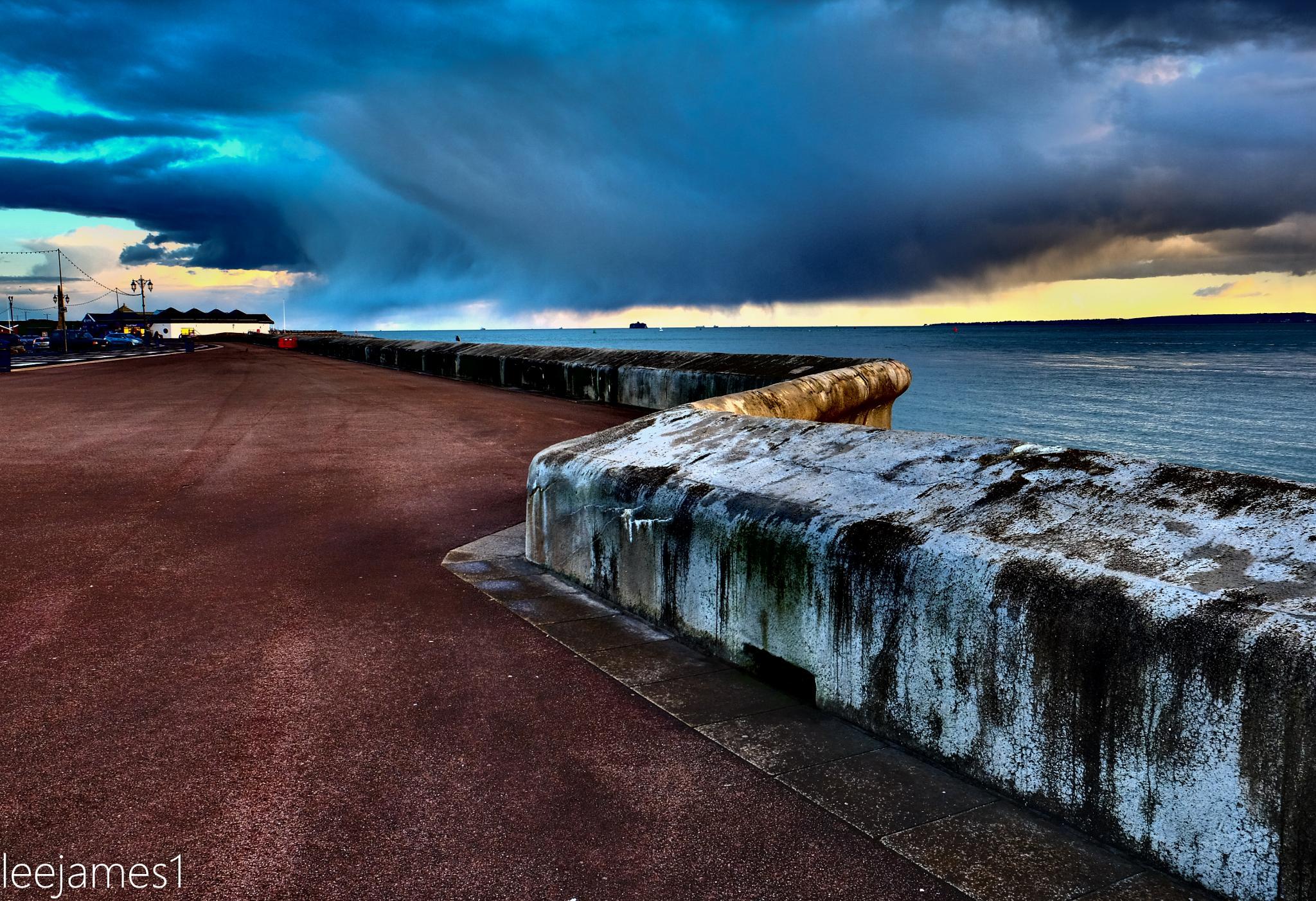 Sea Defences by leejamesphotography