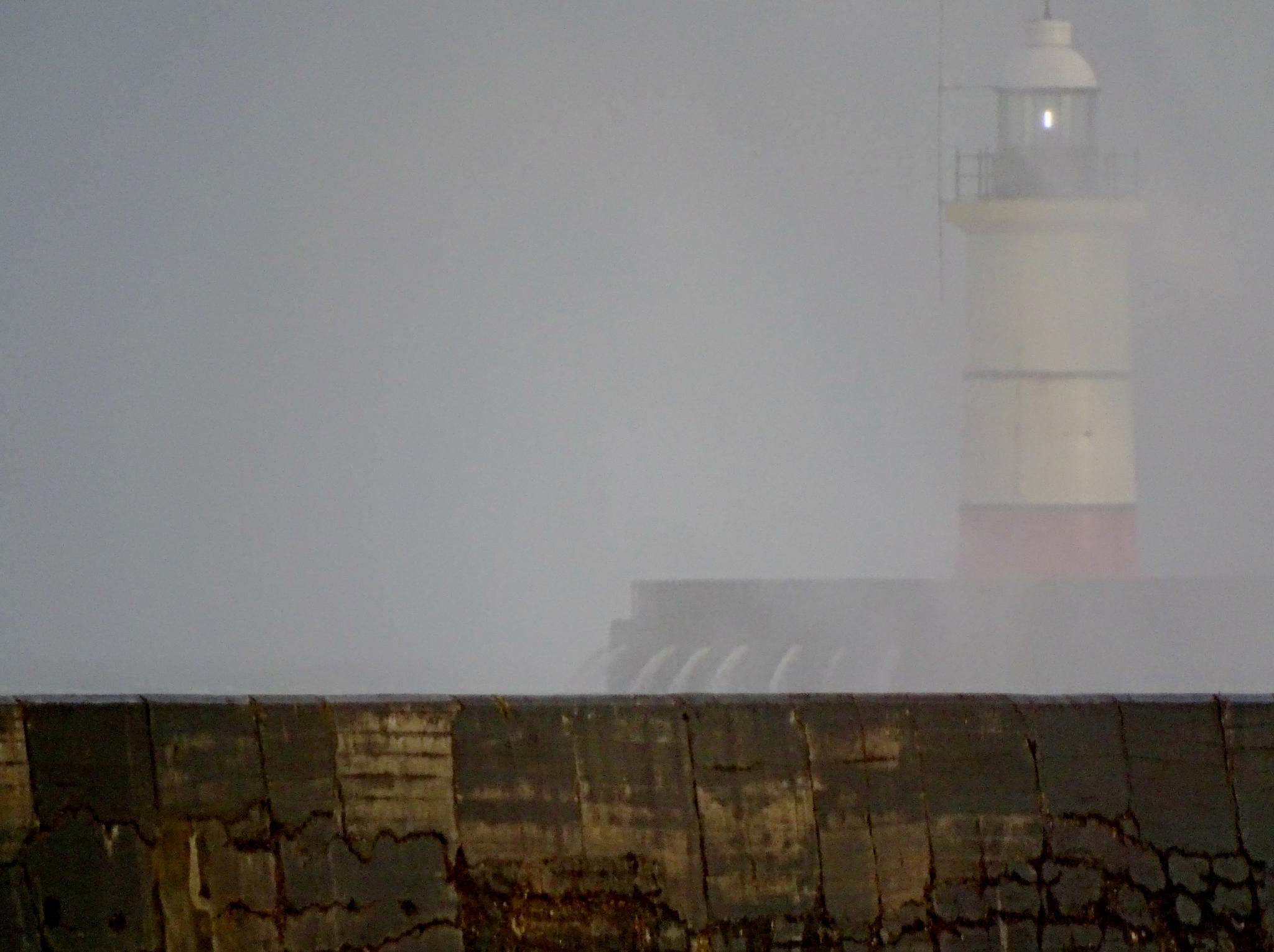 Ghost lighthouse by Jayne Aveline