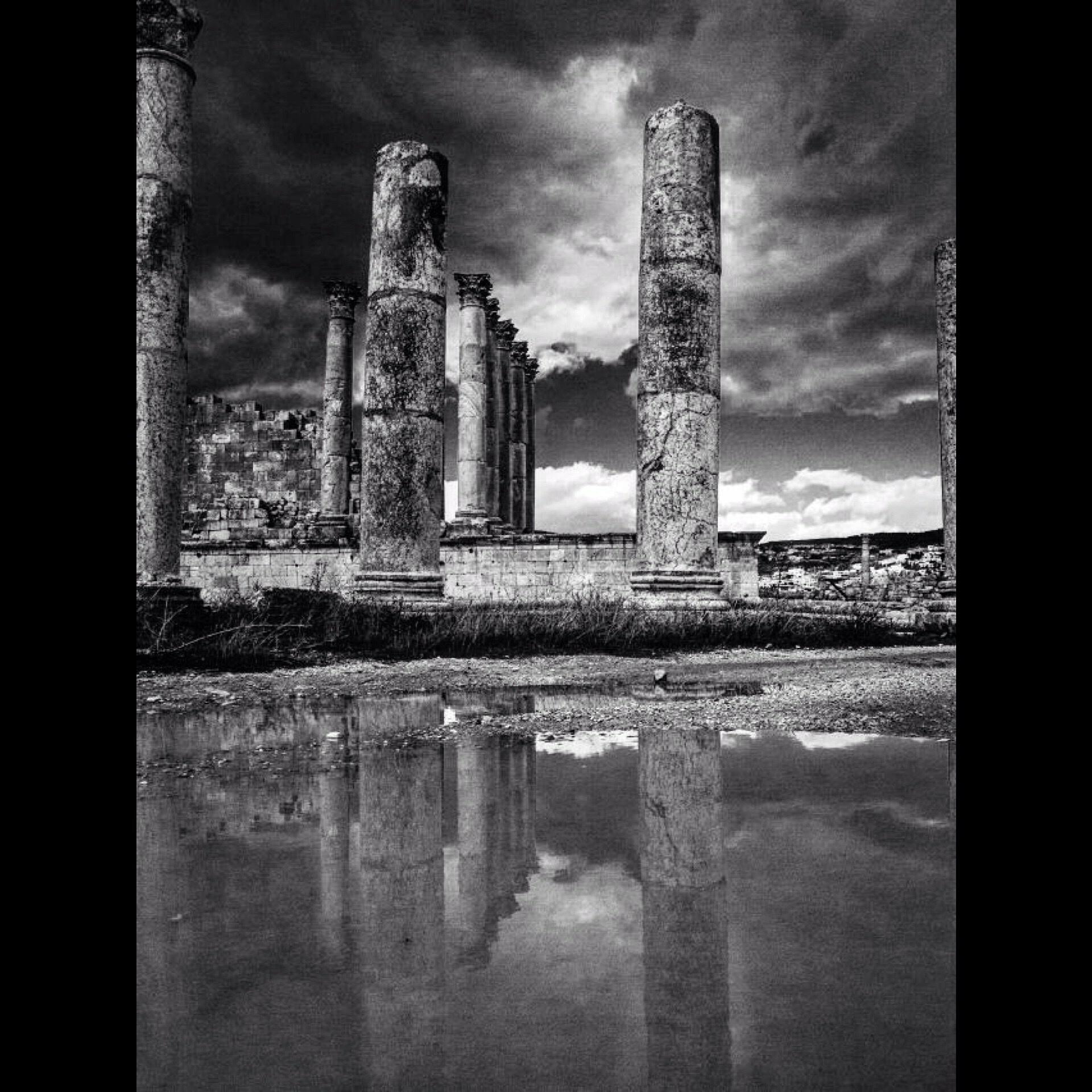 Roman ruins. Jerash. Jordan  by behankieran