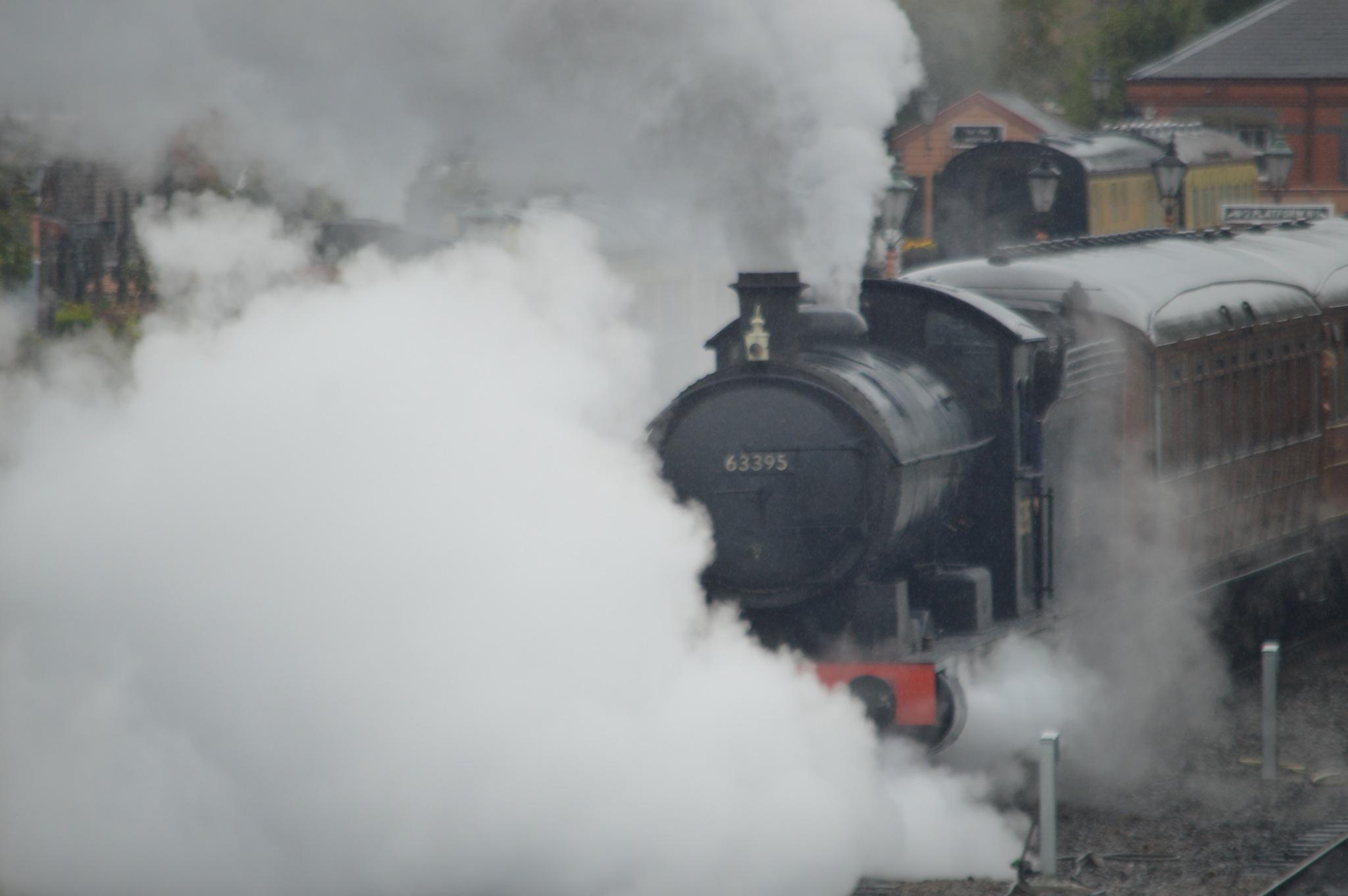 through the steam by adrian.williams.58323