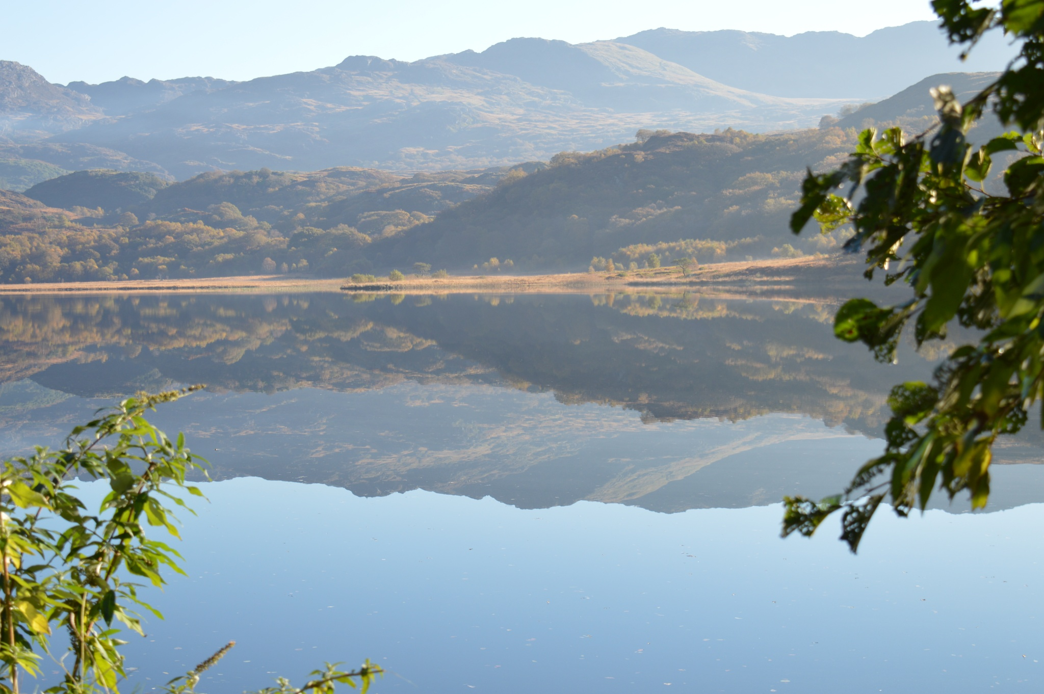 welsh lake reflections by adrian.williams.58323