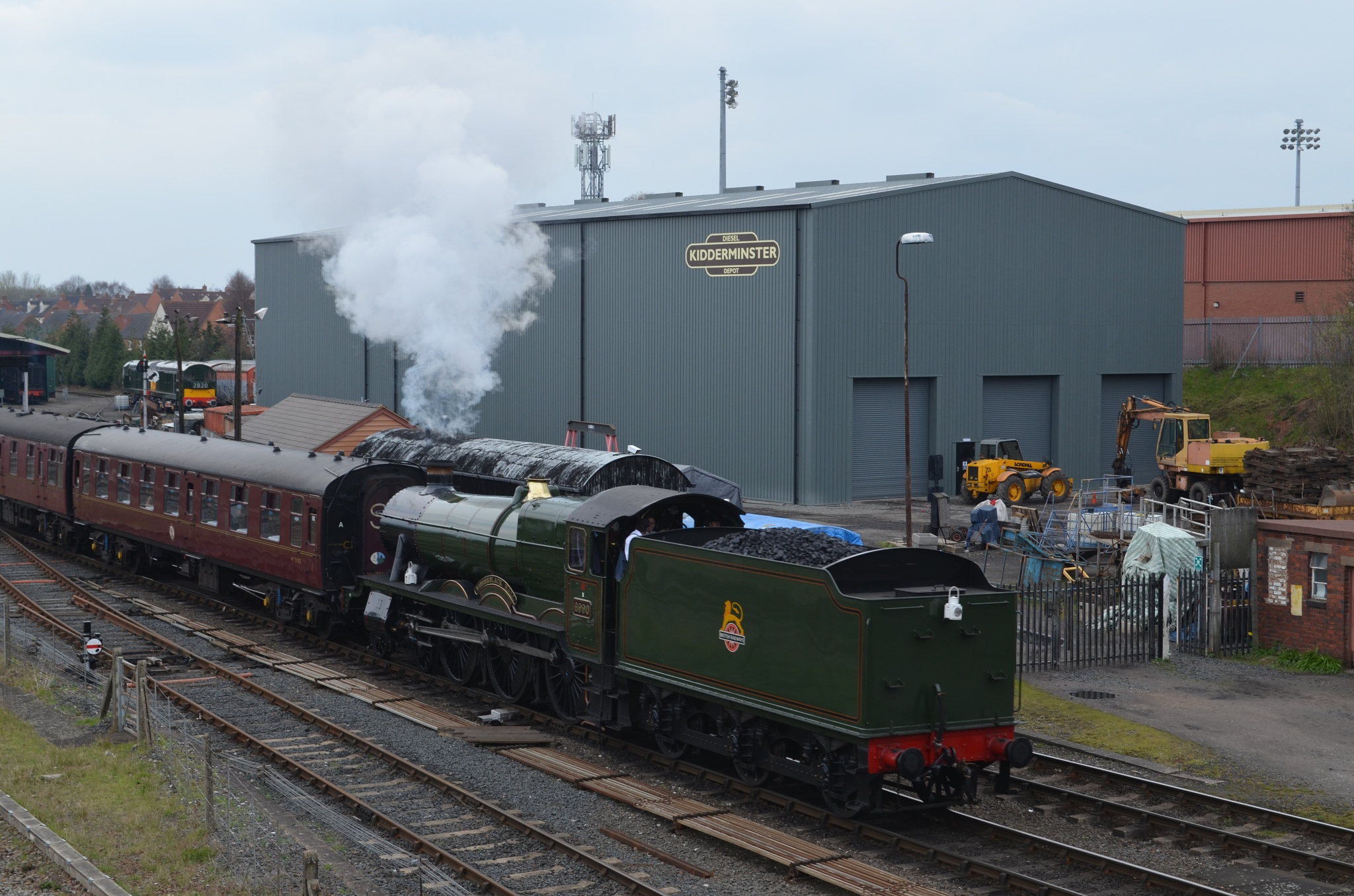 WITHERSLACK HALL ENTERING kIDDERMINSTER by adrian.williams.58323