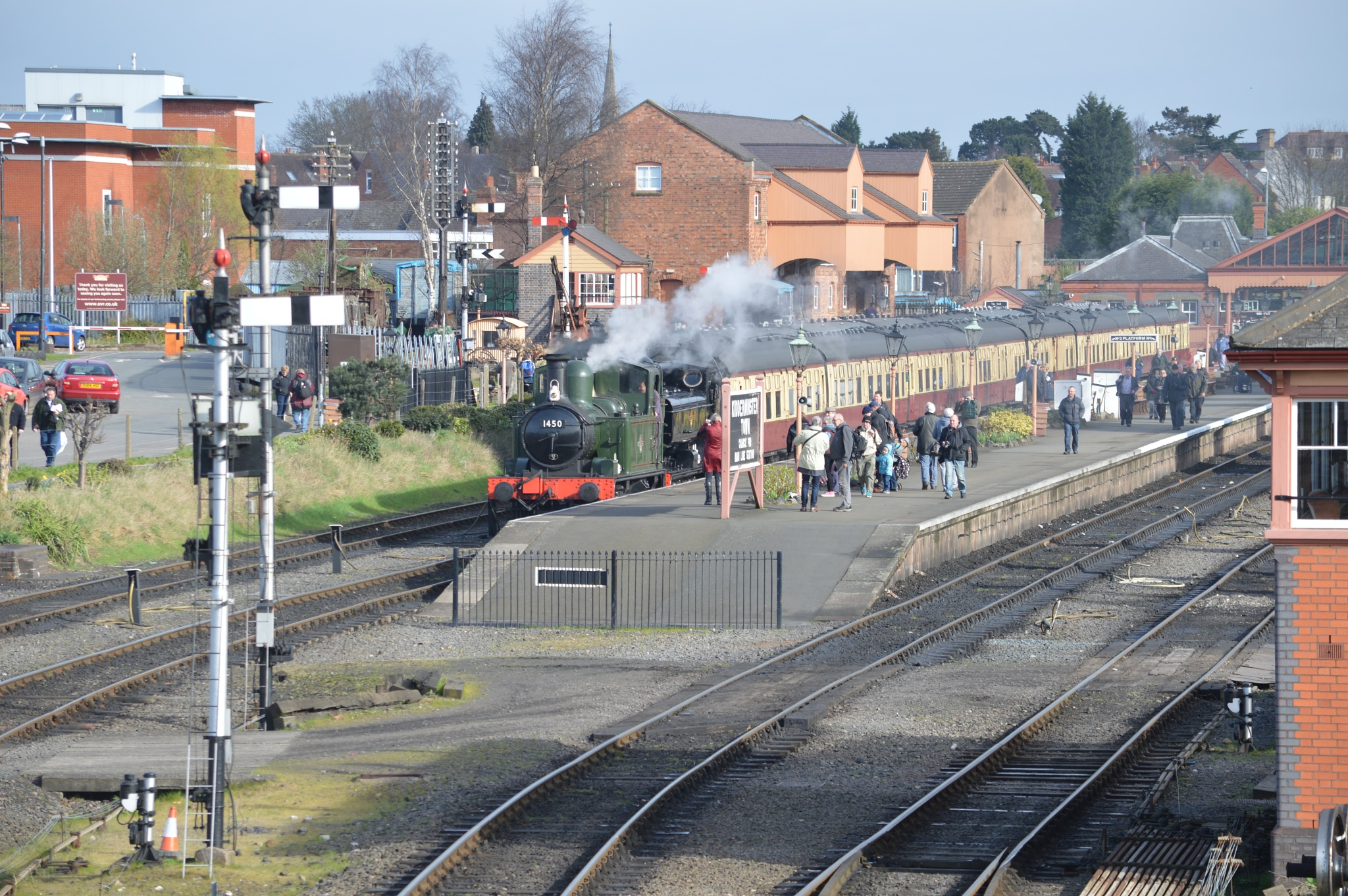SIMMERING IN THE SUN AT kIDDERMINSTER by adrian.williams.58323