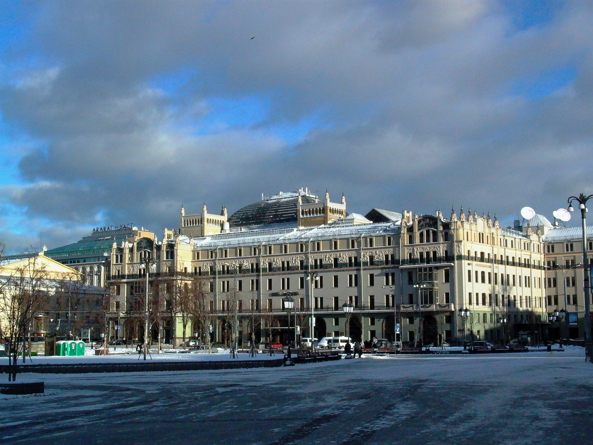 Moscow Metropole Hotel in the sun by leo.vleugels.3