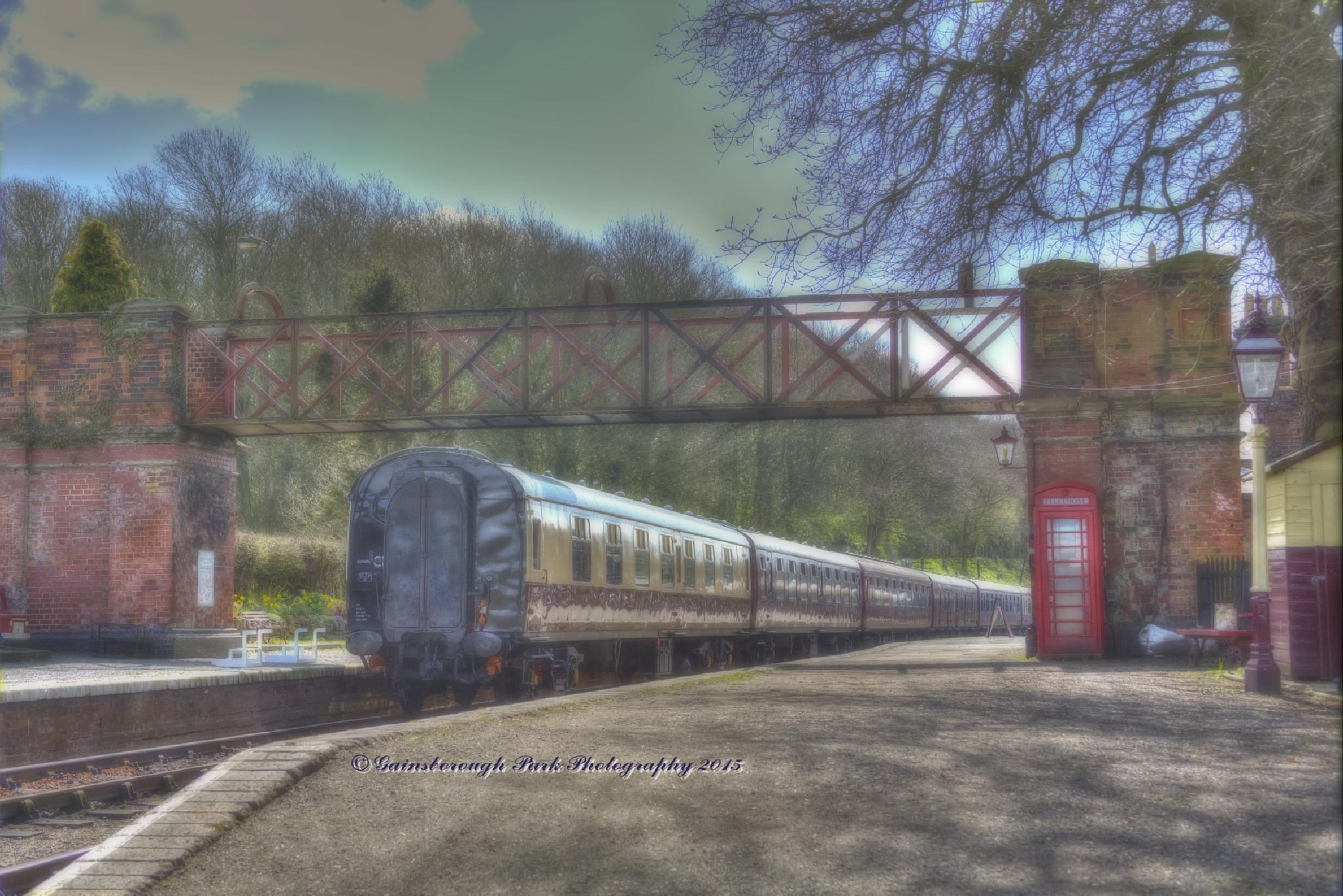 The train now leaving…….. by Gainsborough Park Photography