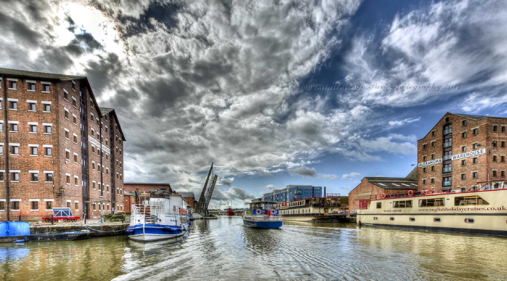 Gloucester Docks by Gainsborough Park Photography
