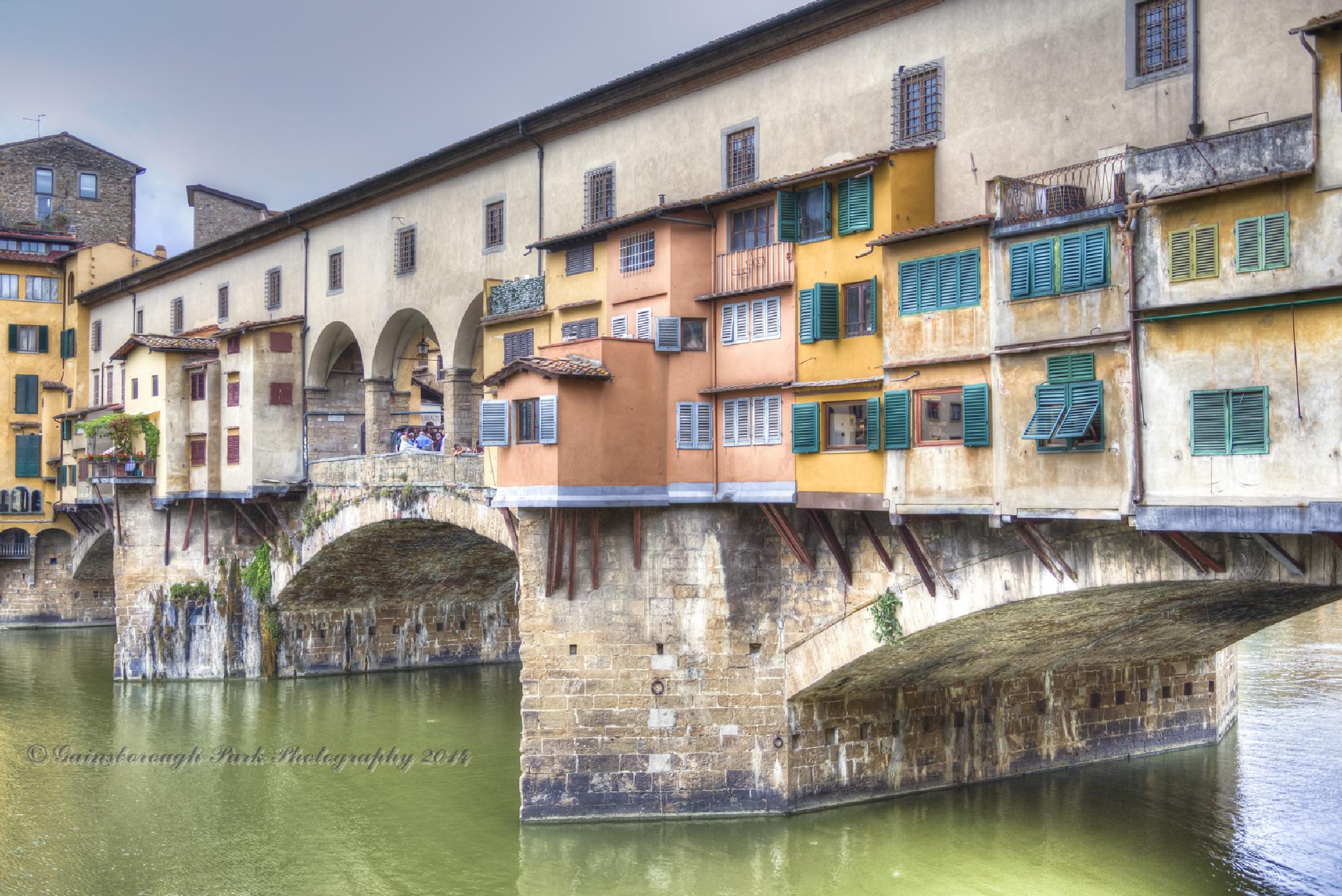 Ponte Vecchio, Florence by Gainsborough Park Photography