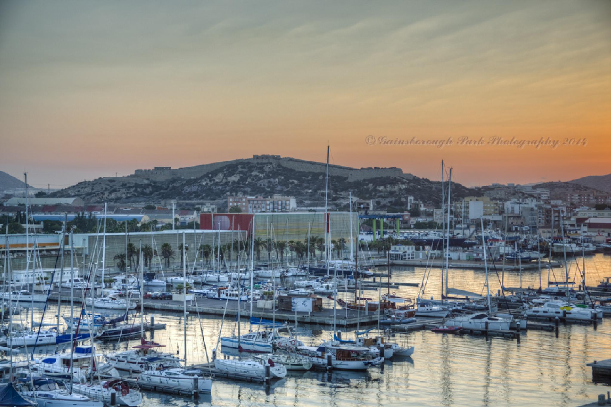 Cartagena, Spain by Gainsborough Park Photography