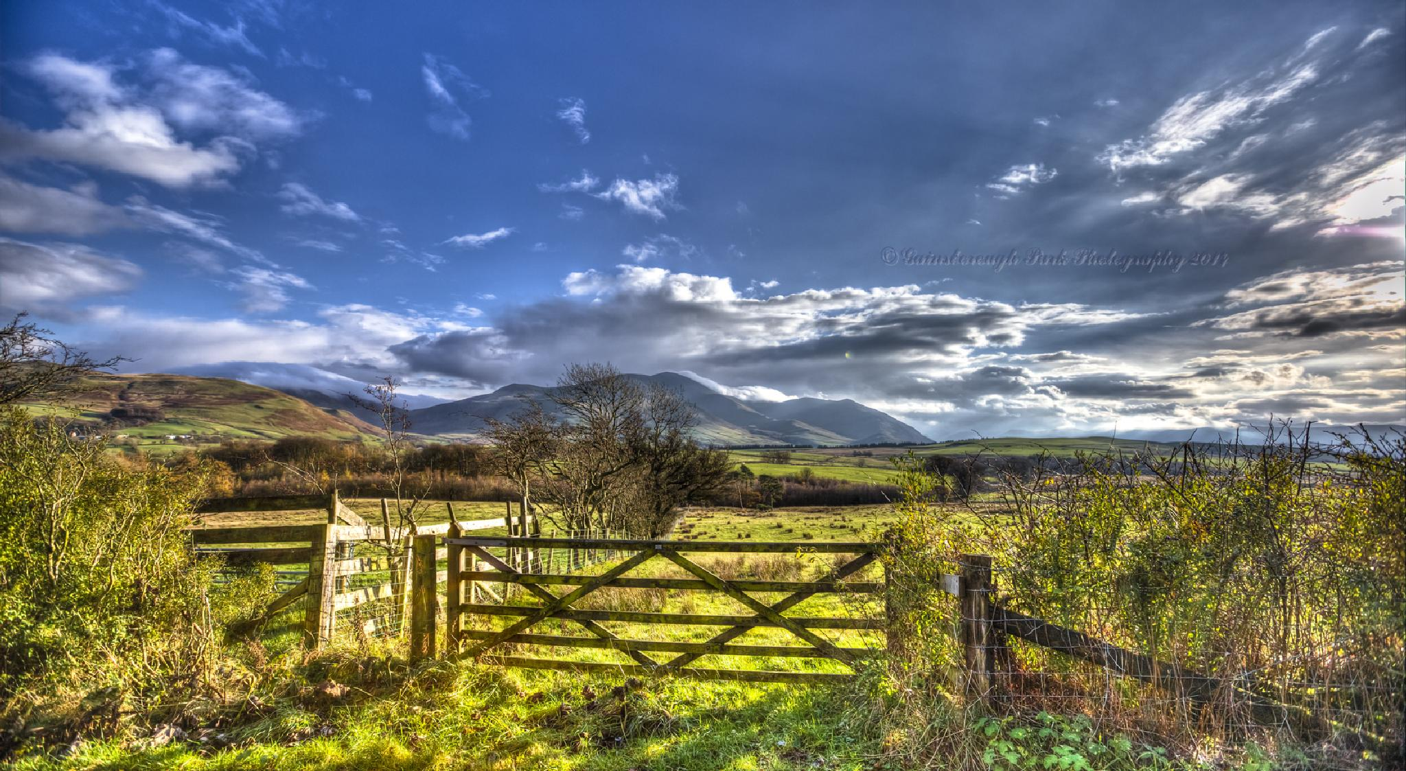 Skiddaw, Cumbria by Gainsborough Park Photography