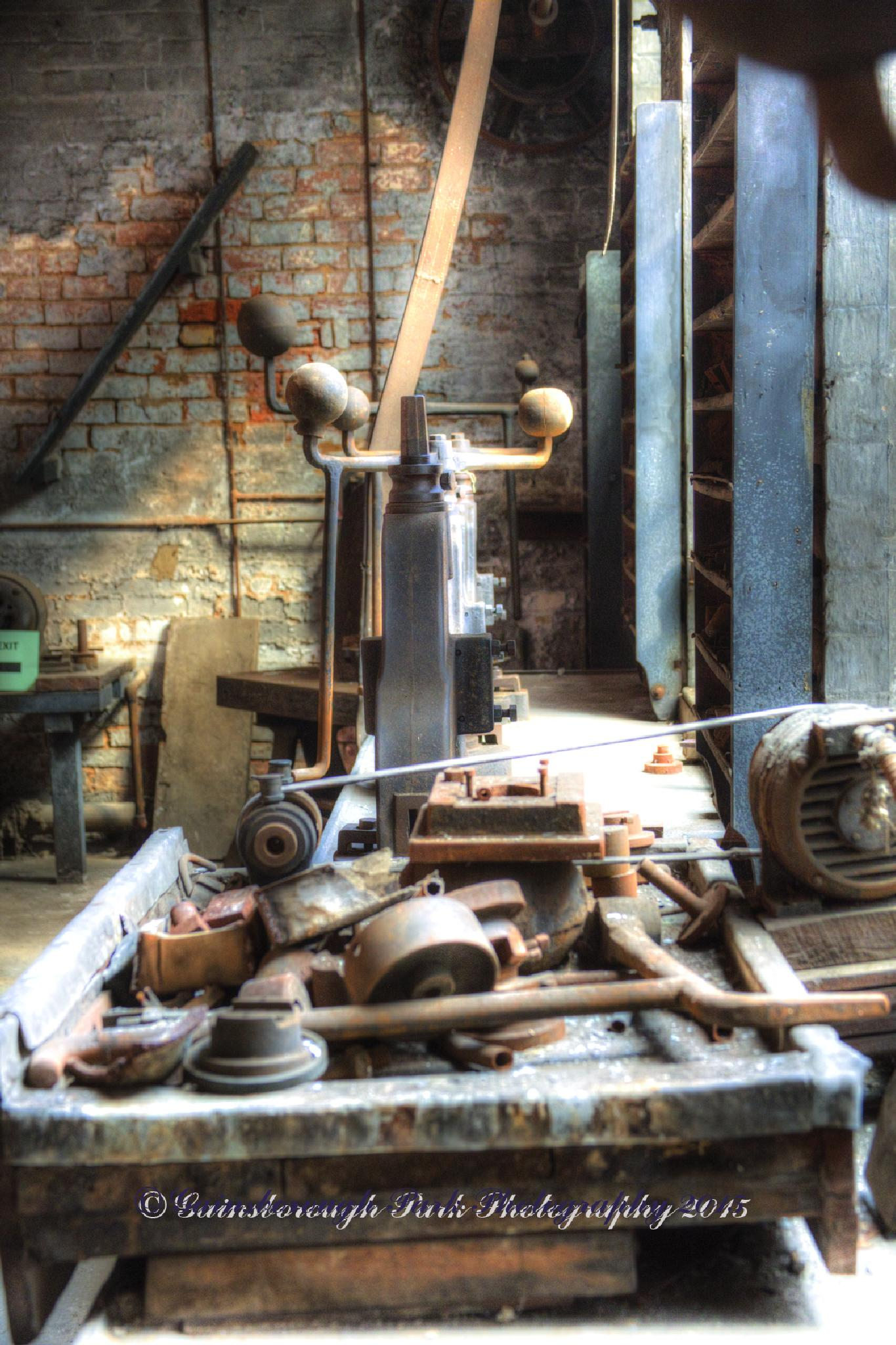 Jeweller's Workshop by Gainsborough Park Photography