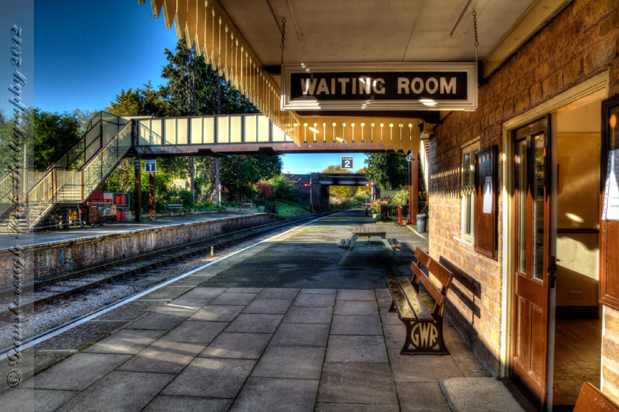 Winchcombe Station by Gainsborough Park Photography