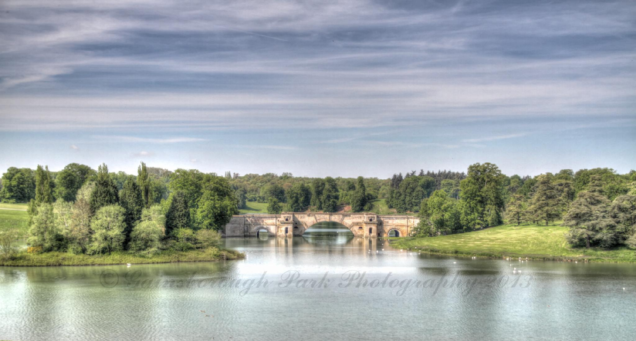 The Grand Bridge at Blenheim Palace by Gainsborough Park Photography