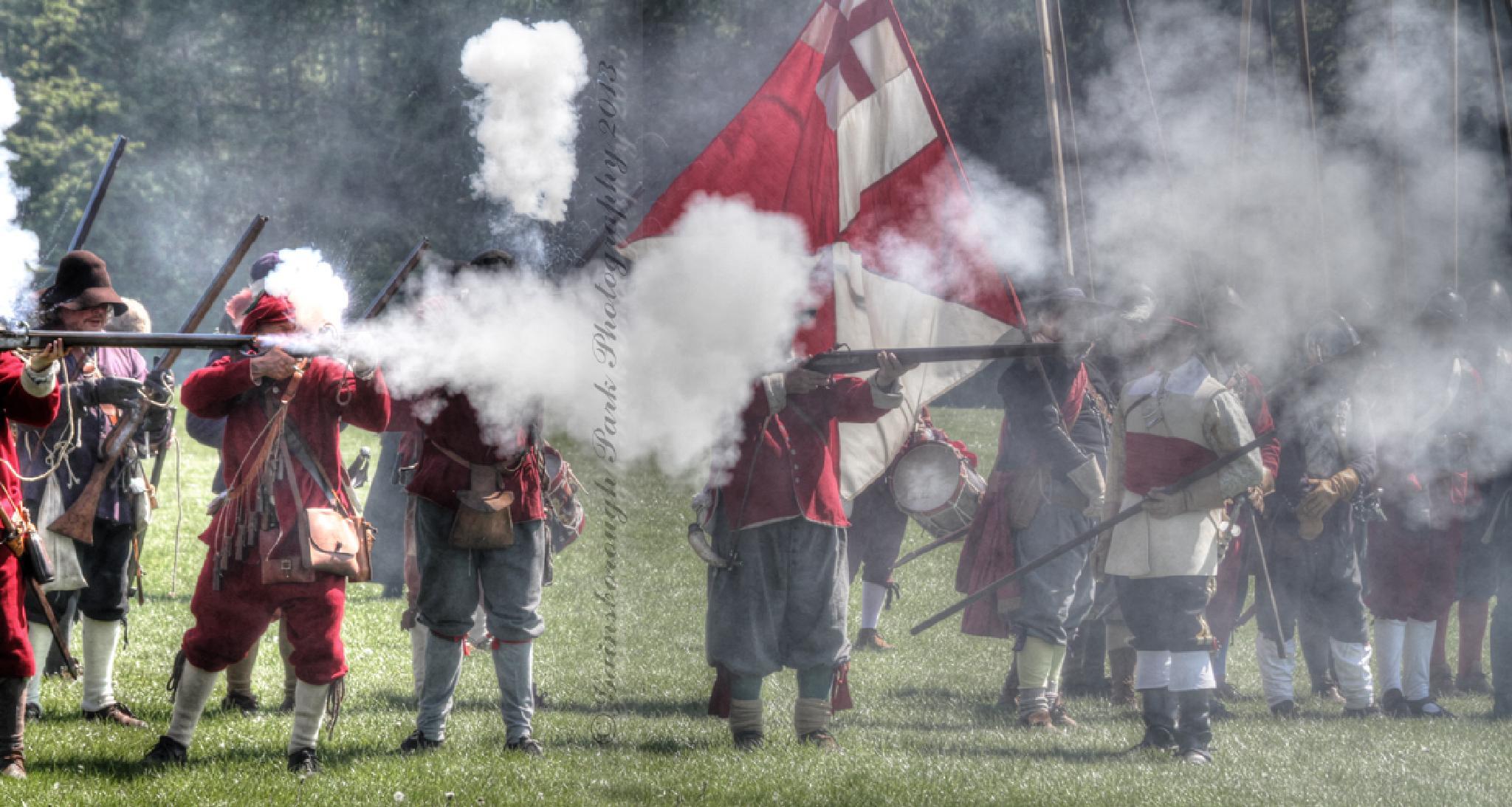 Civil War Re-Enactment at Blenheim Palace by Gainsborough Park Photography