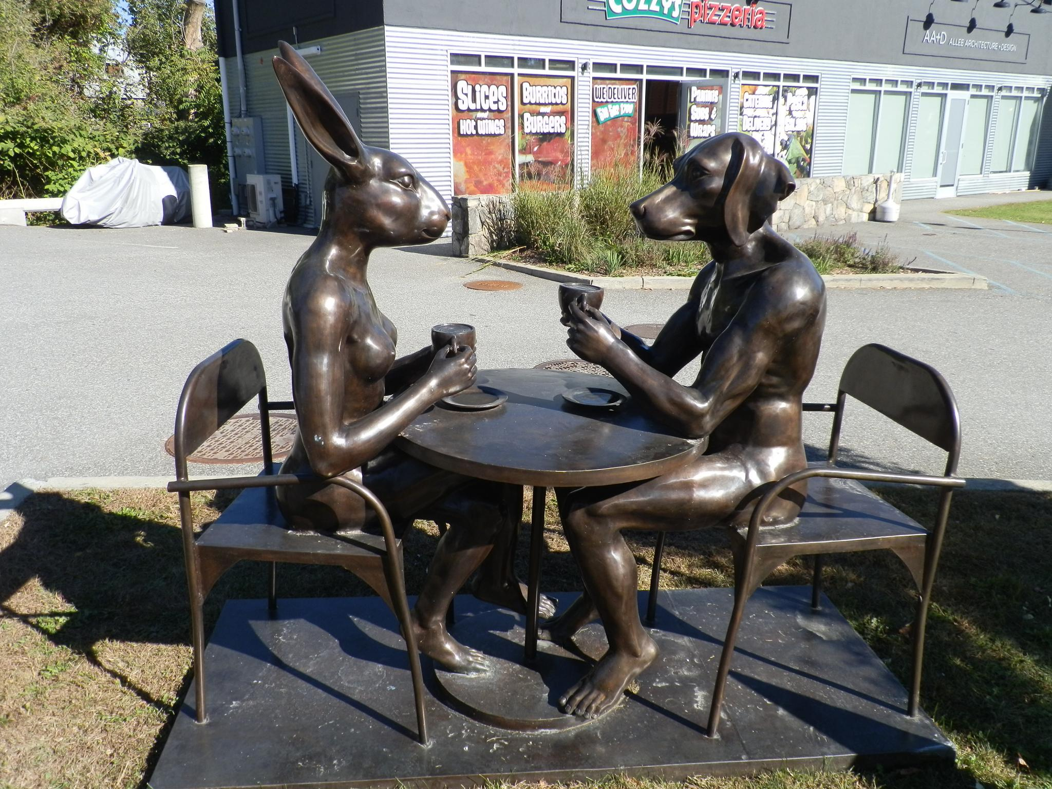 Coffee with a friend by BobJohnston