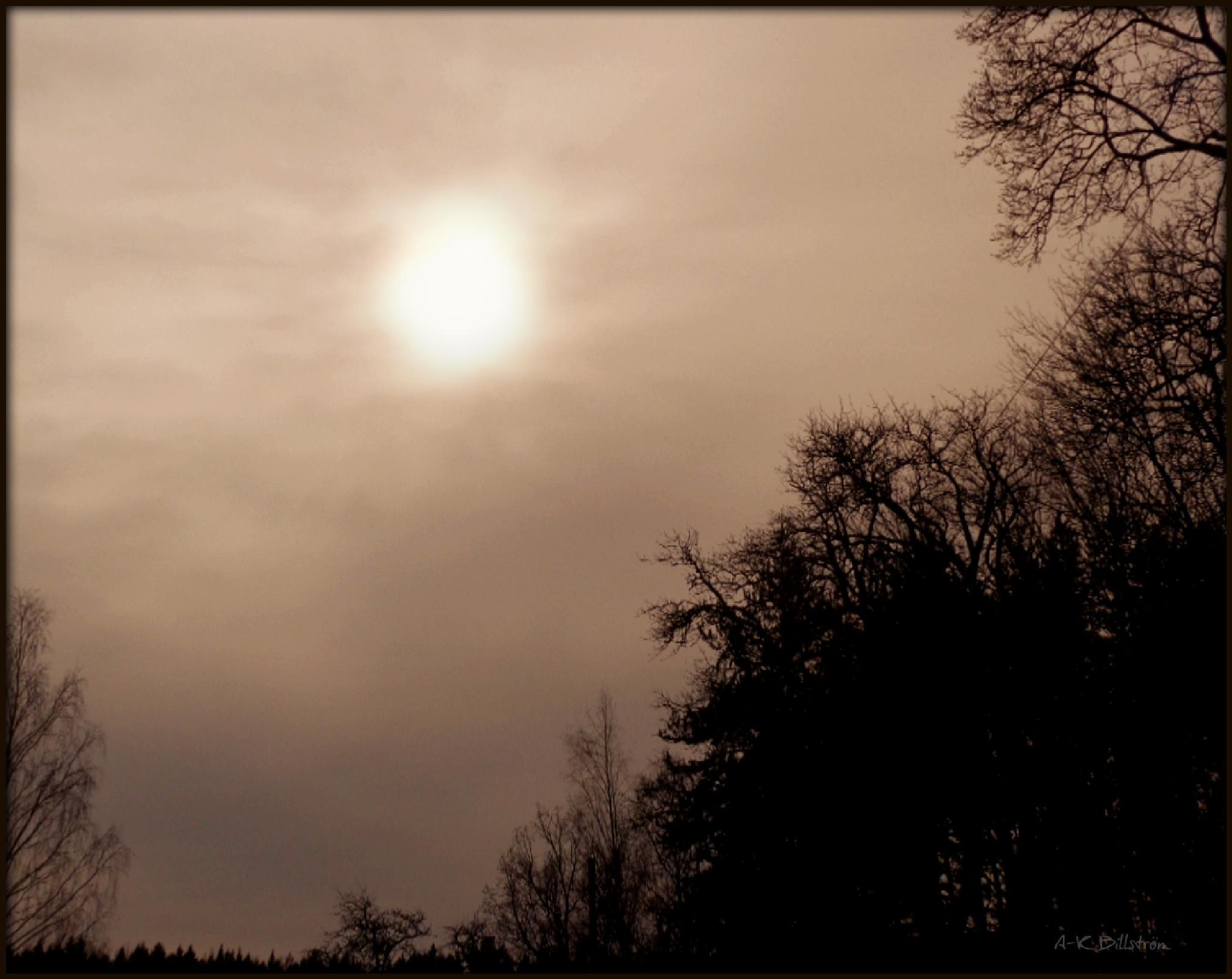Looking into the sun by A-K Billström