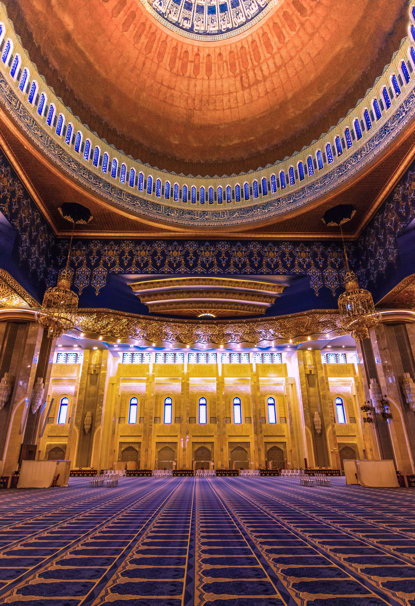 The grand mosque by Ahmed Thabet