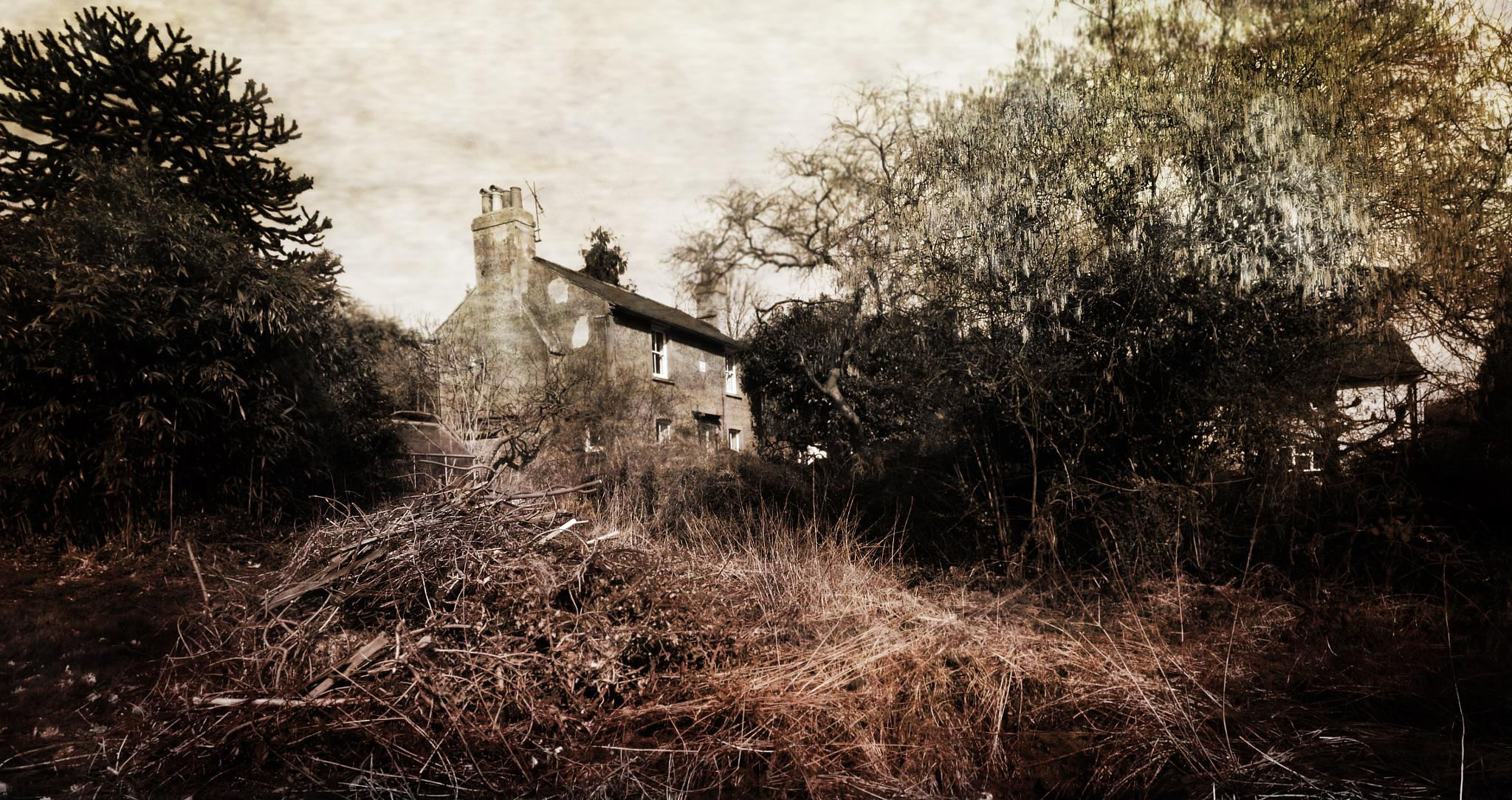 Derelict cottage by ValerieBakerPhotographer