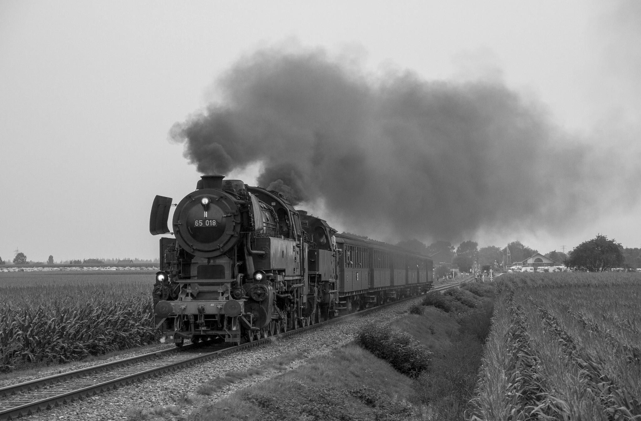 Steamlocomotive BR 65 018 by Rémon Lourier