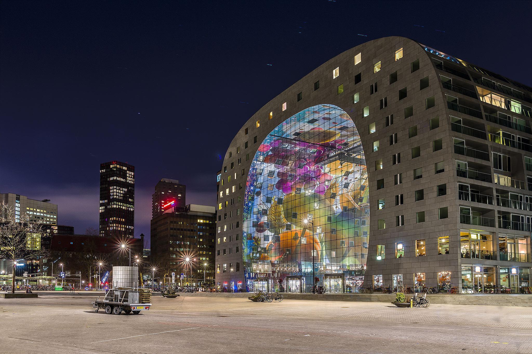 Market Hall Rotterdam by Rémon Lourier