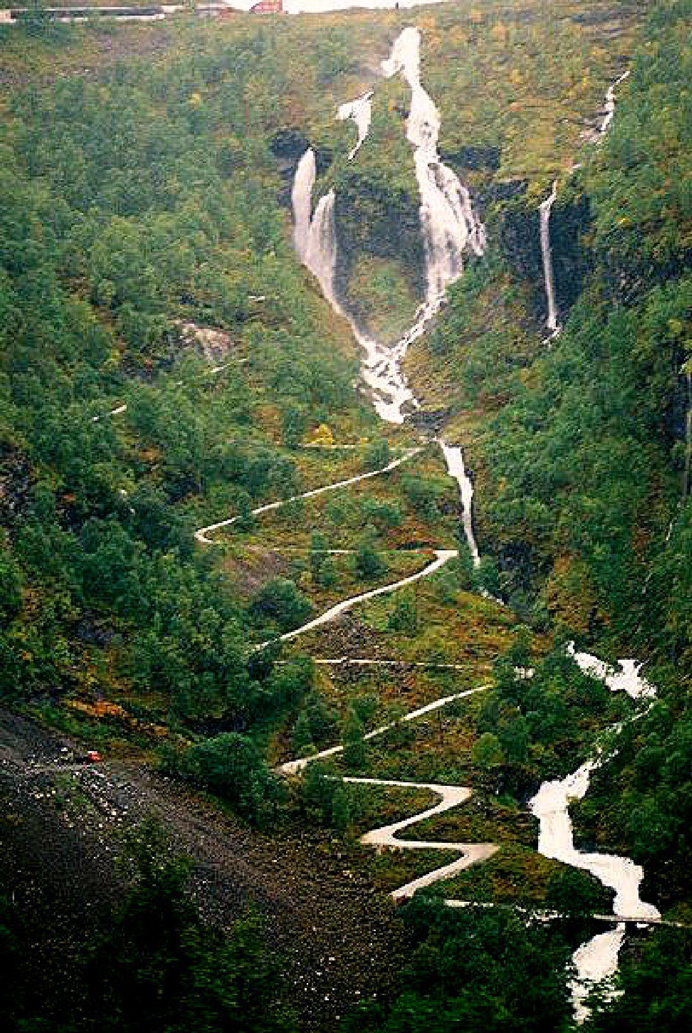 Waterfall by adrian pendlebury