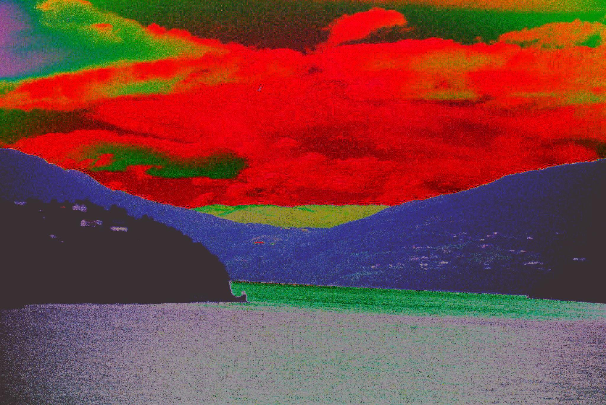 Sky of blood by adrian pendlebury