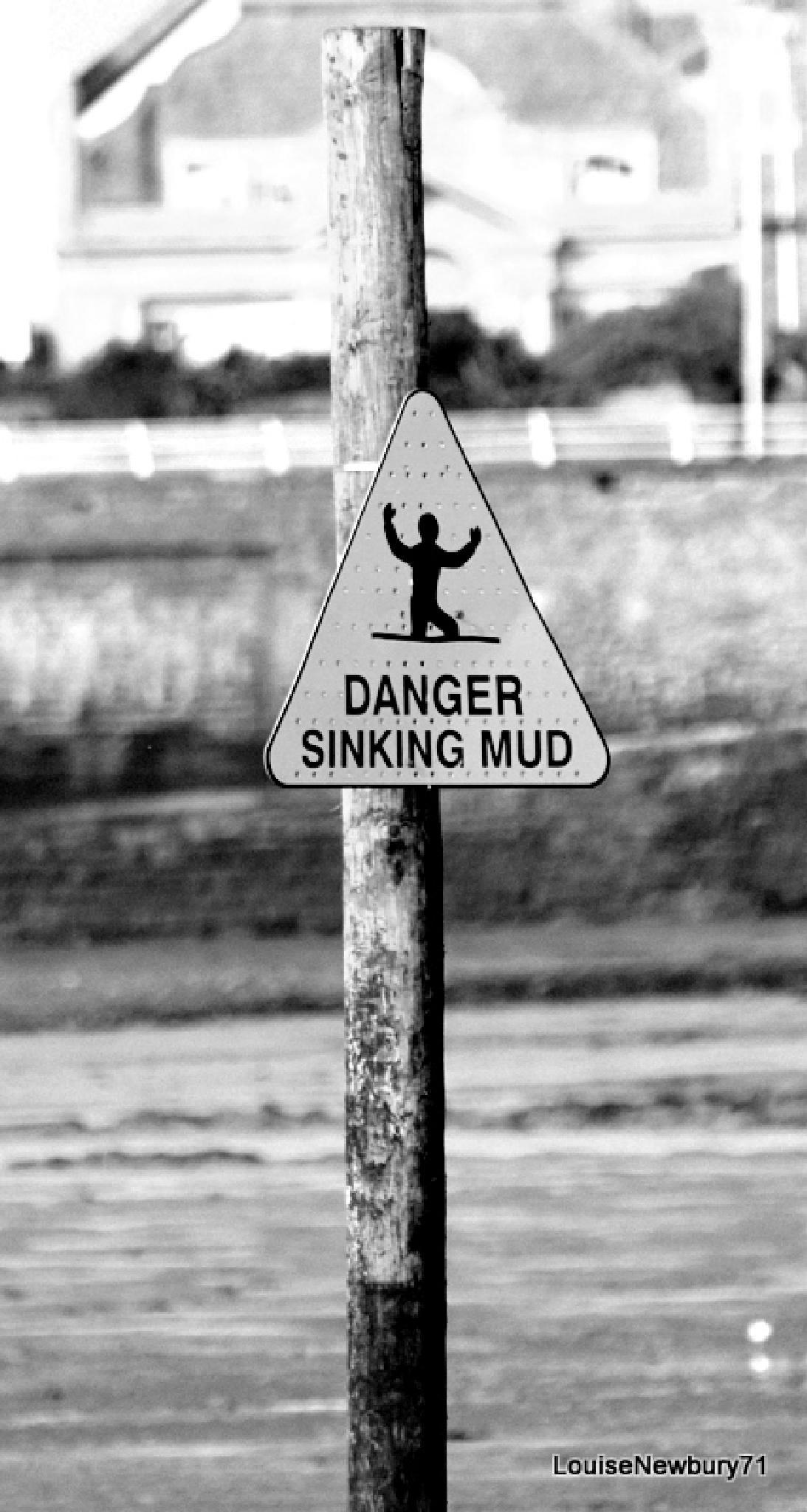 Sinking mud by louise.newbury