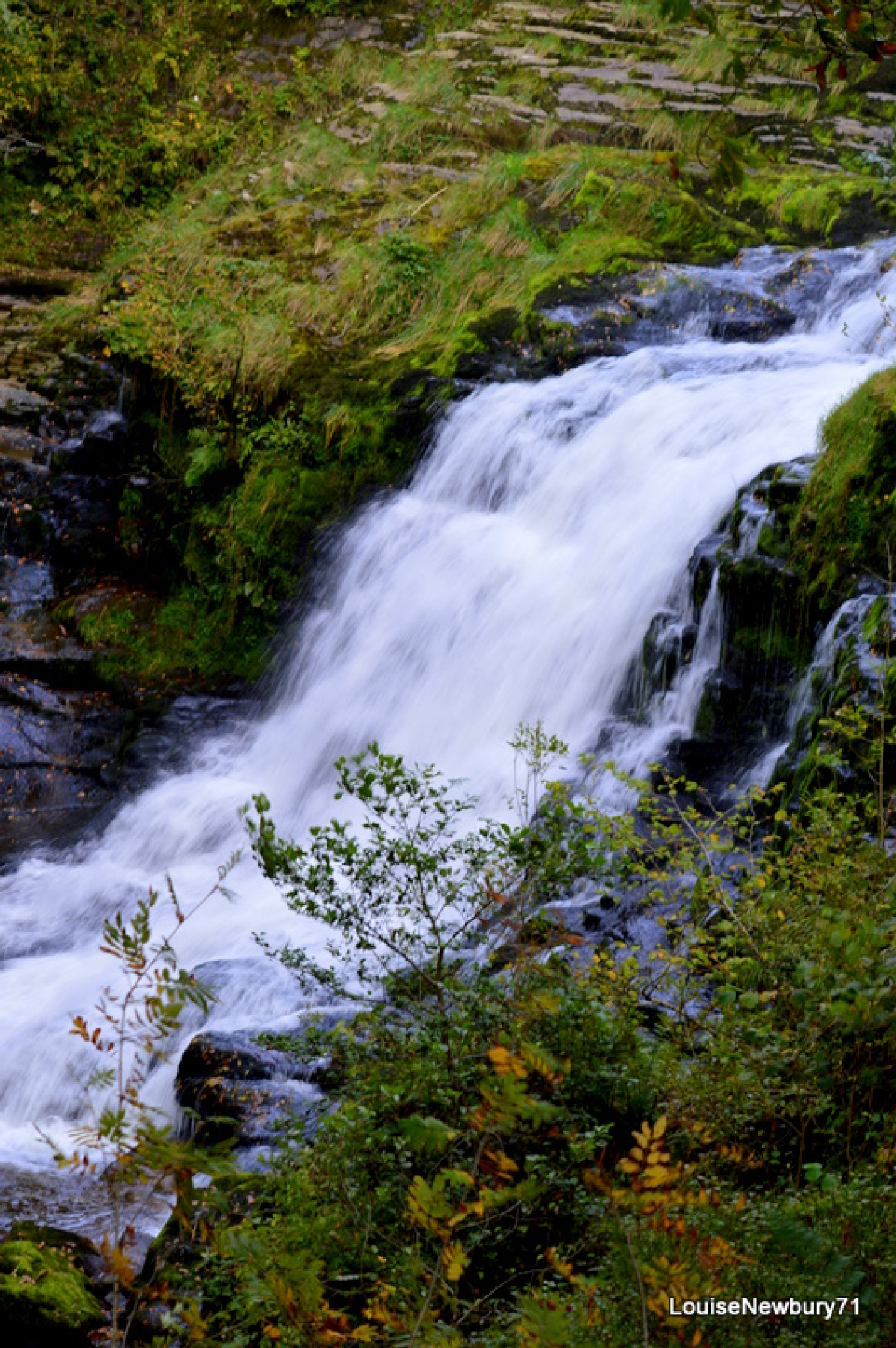 2nd waterfall @ Ystradfellte by louise.newbury