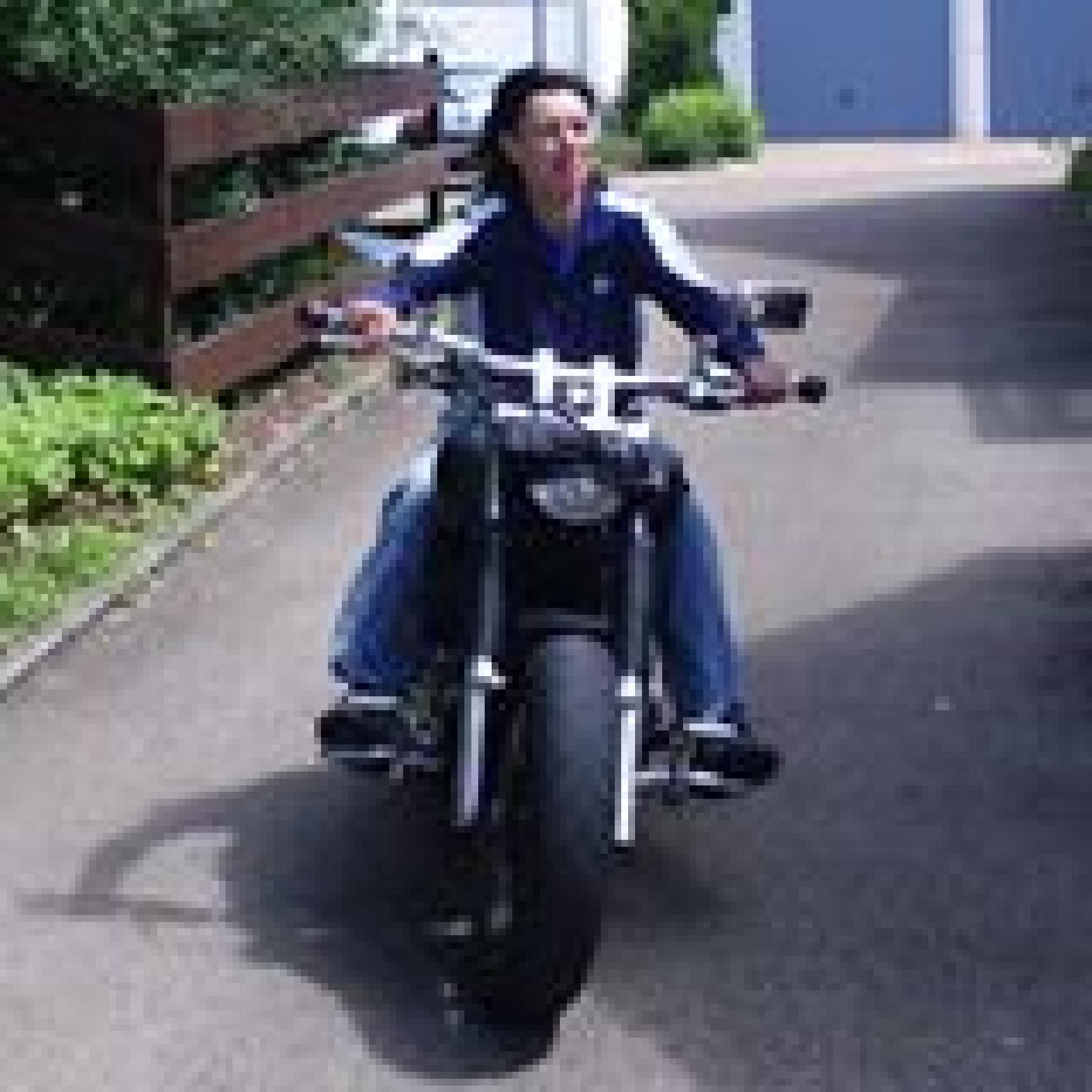 Me and my bike - big love  by maritta.fischer