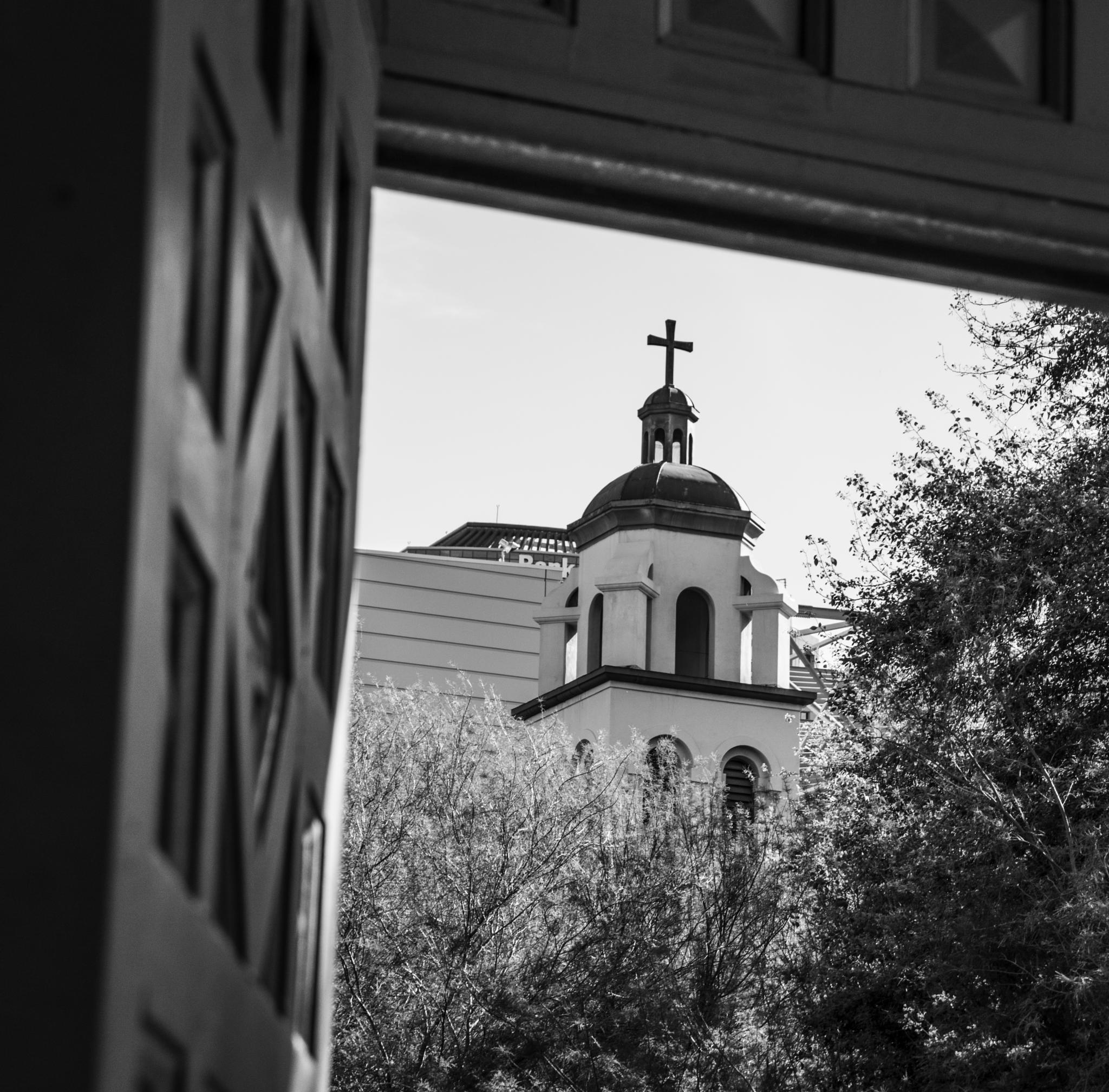 The Church in the Door by Daniel Hanson