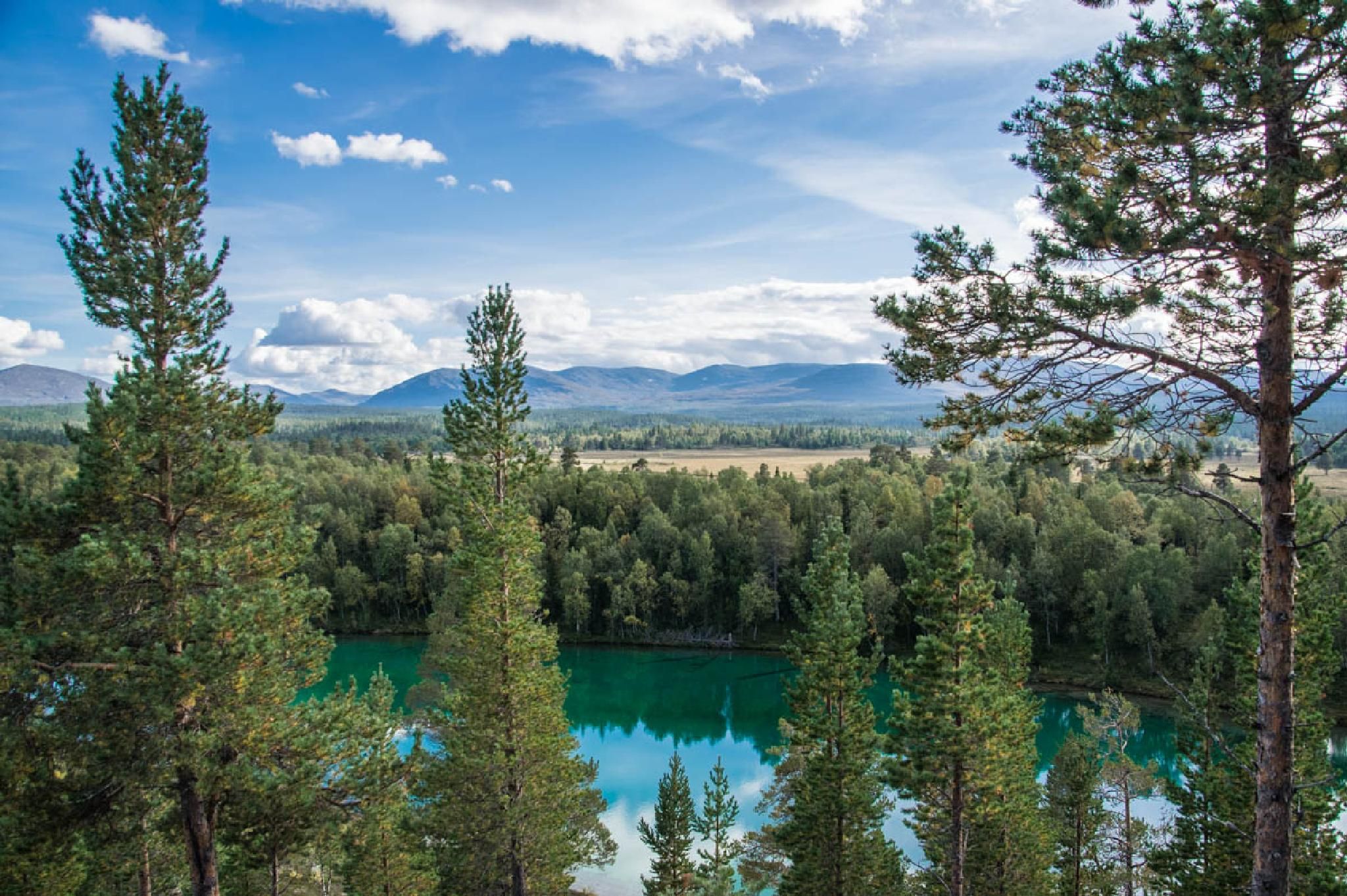 swedish mountains by gorber