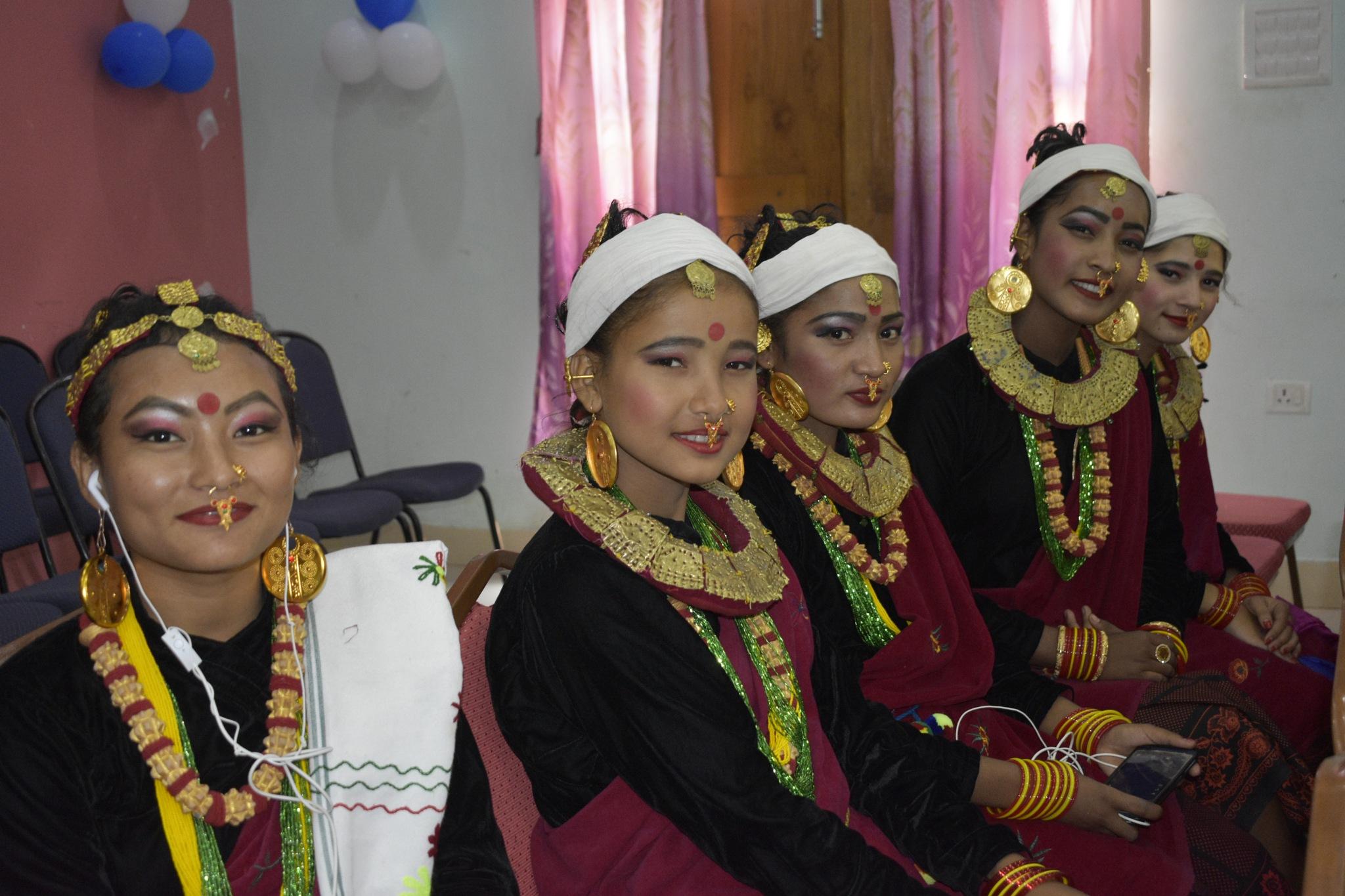 Nepali  Culture  Dress by som.gurung.961