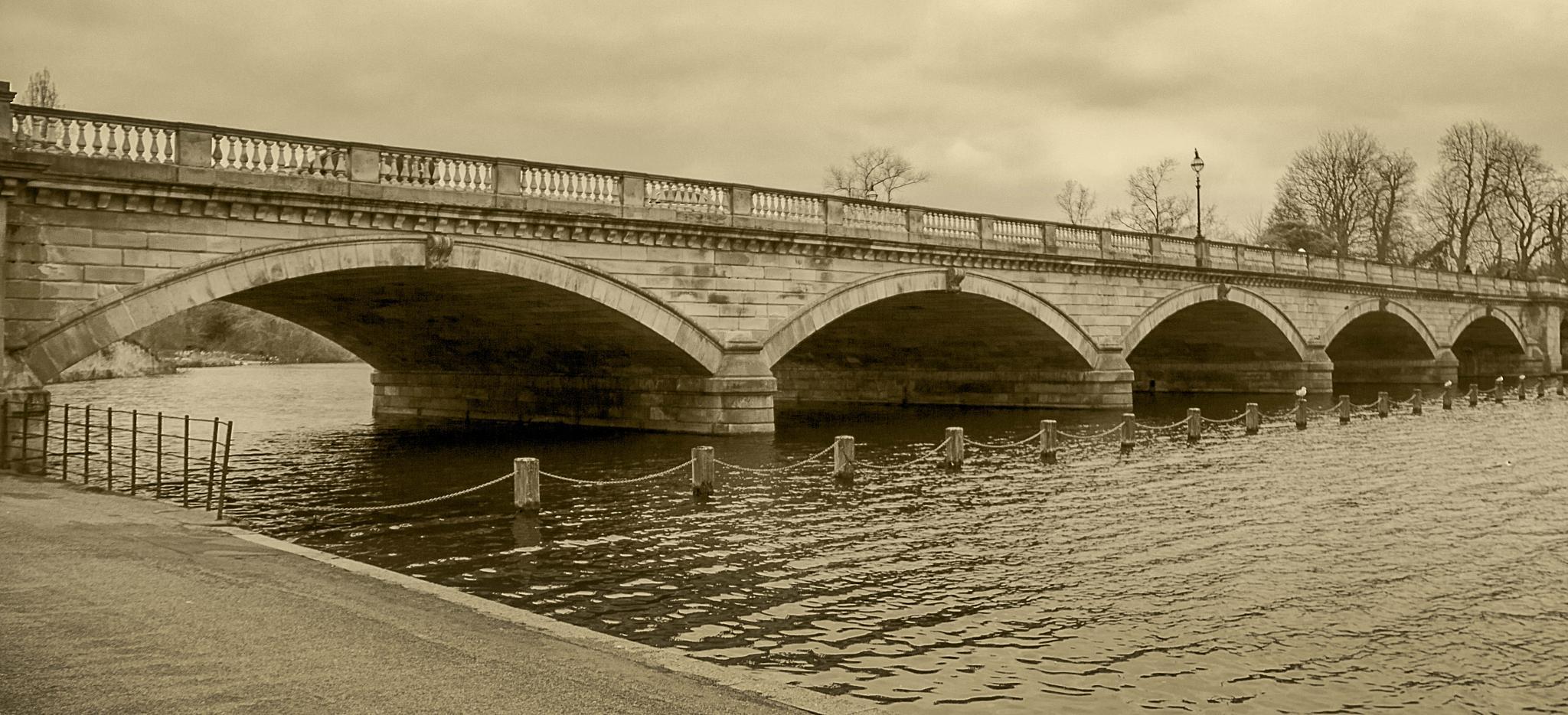 Serpentine Bridge  by Alan Deus