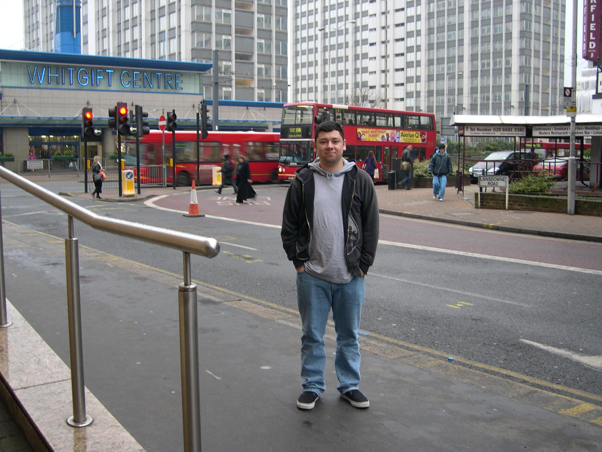My Lovely Son on the streets of Croydon-London, UK by beth.heynen.1