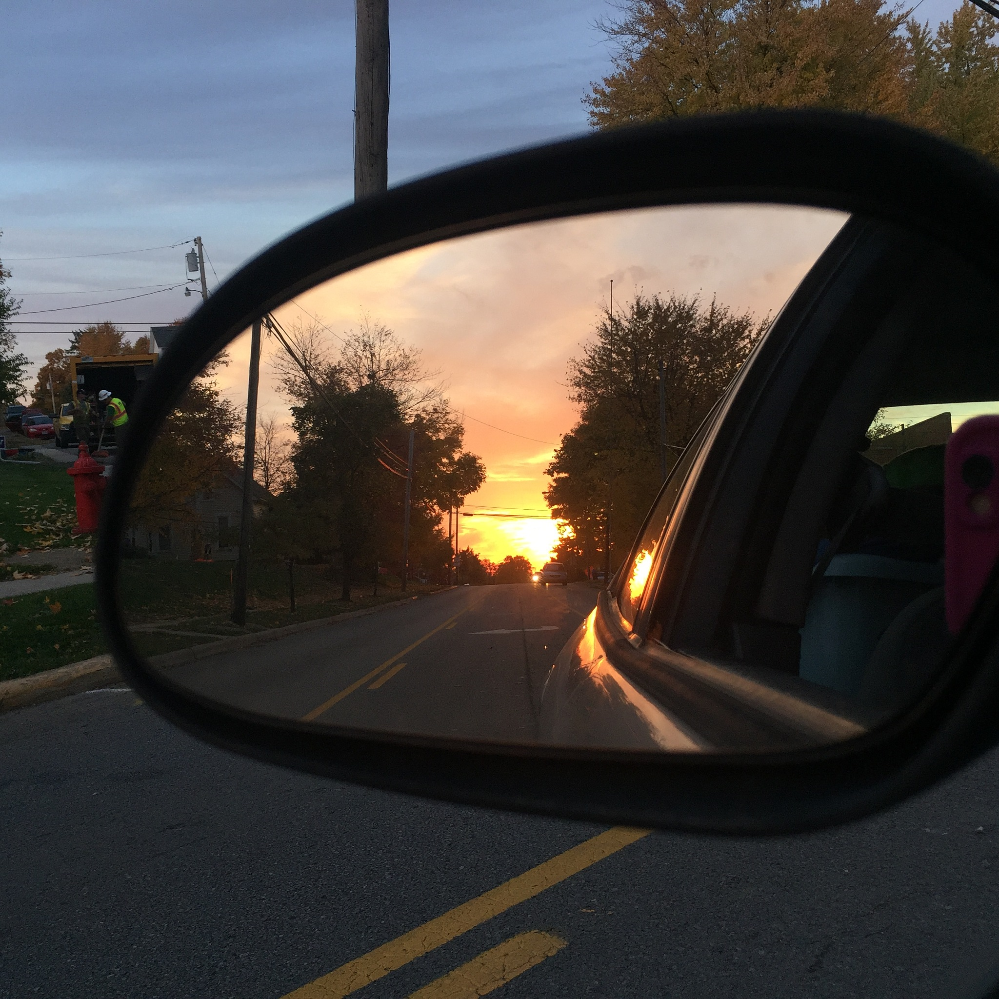 looking back by Marilyn S. Martin