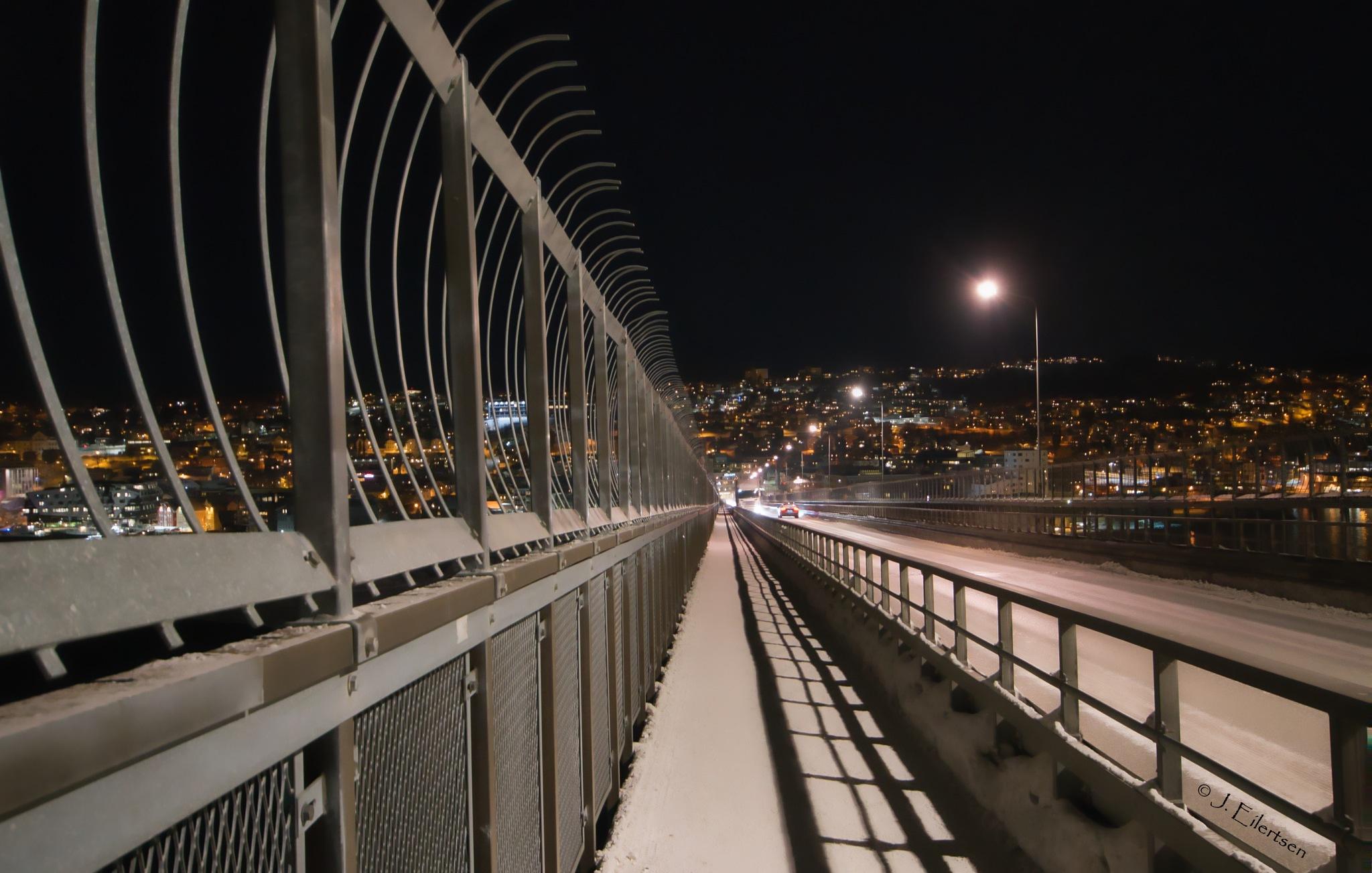 On the bridge.  by joeilert