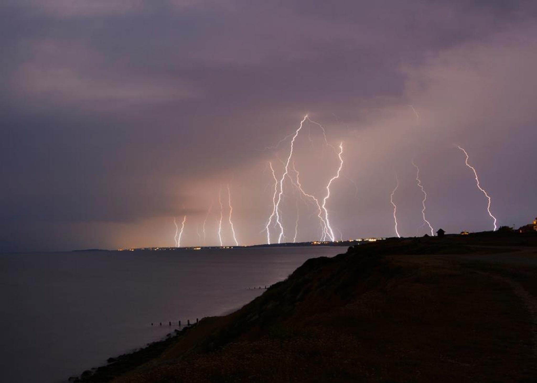 lightning strikes by stephen.roberts.31586