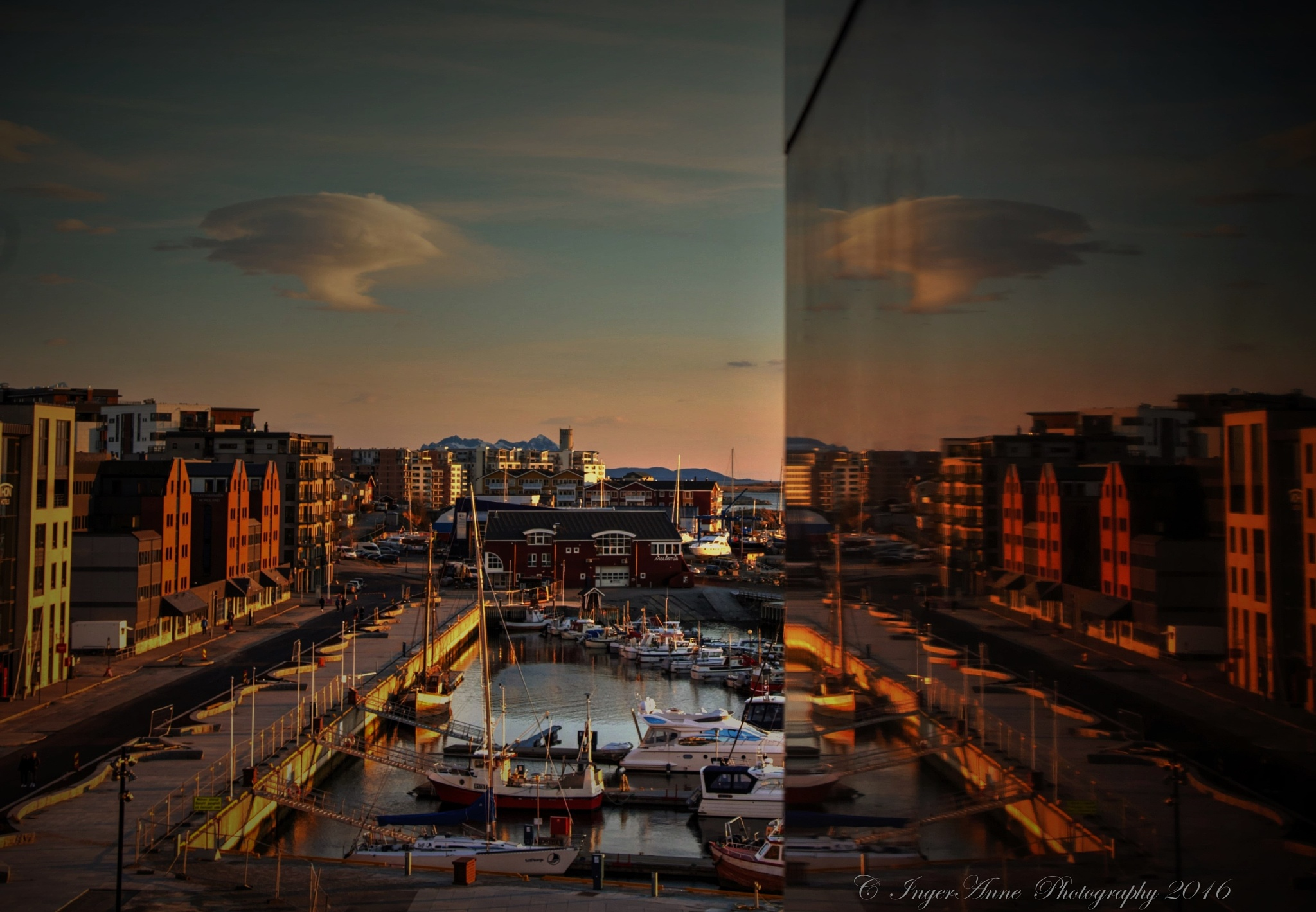 Sunset in Bodø by IngerAnneHogseth