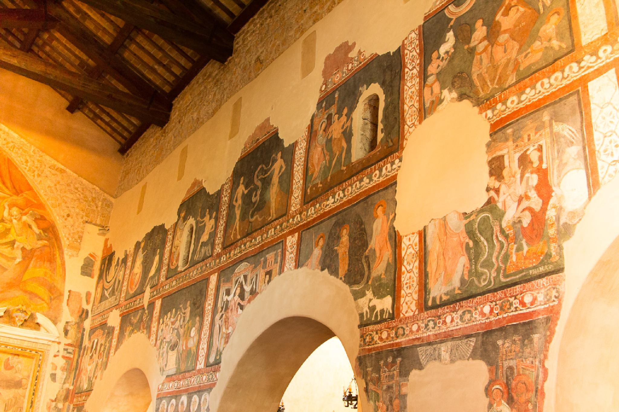 Frescos from the sanctuary of Virgin Mary of Ceri - 1 by Maurizio Fissi