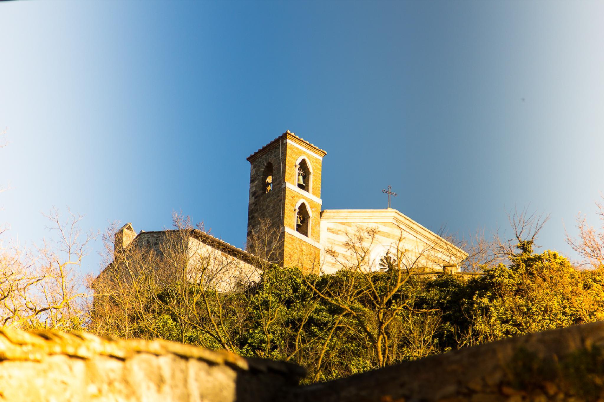 Madonna della Rocca di Tolfa by Maurizio Fissi
