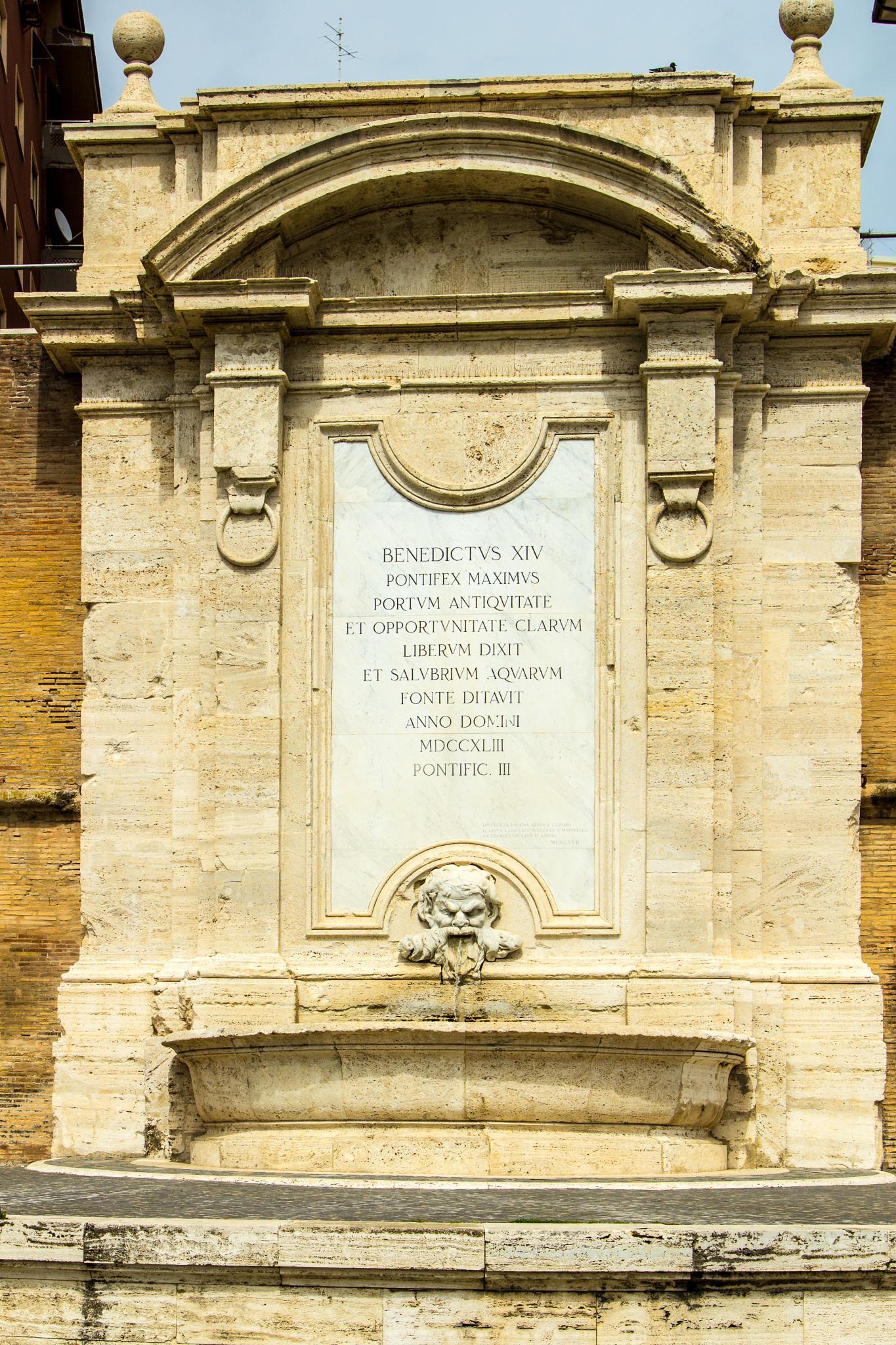 the Vanvitelli fountain by Maurizio Fissi